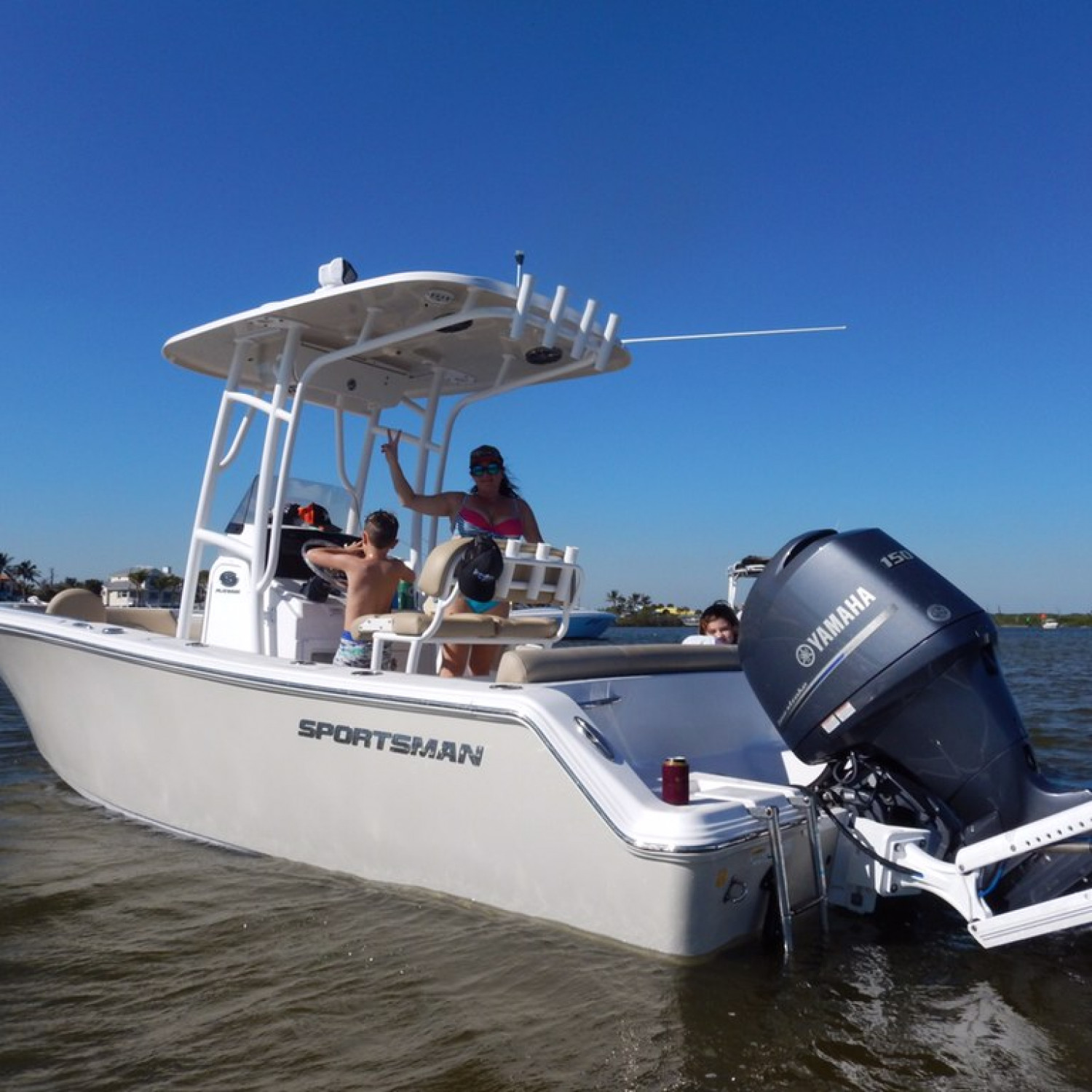 Title: Winter Boating in South Florida - On board their Sportsman Heritage 211 Center Console - Location: Jupiter, FL. Participating in the Photo Contest #SportsmanDecember2017