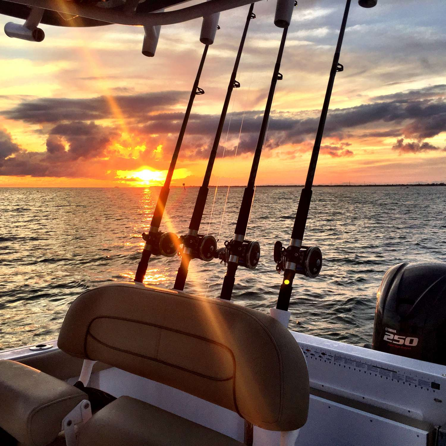 Title: Fl Keys  Sunset - On board their Sportsman Open 232 Center Console - Location: Jacksonville, Florida. Participating in the Photo Contest #SportsmanJanuary2017
