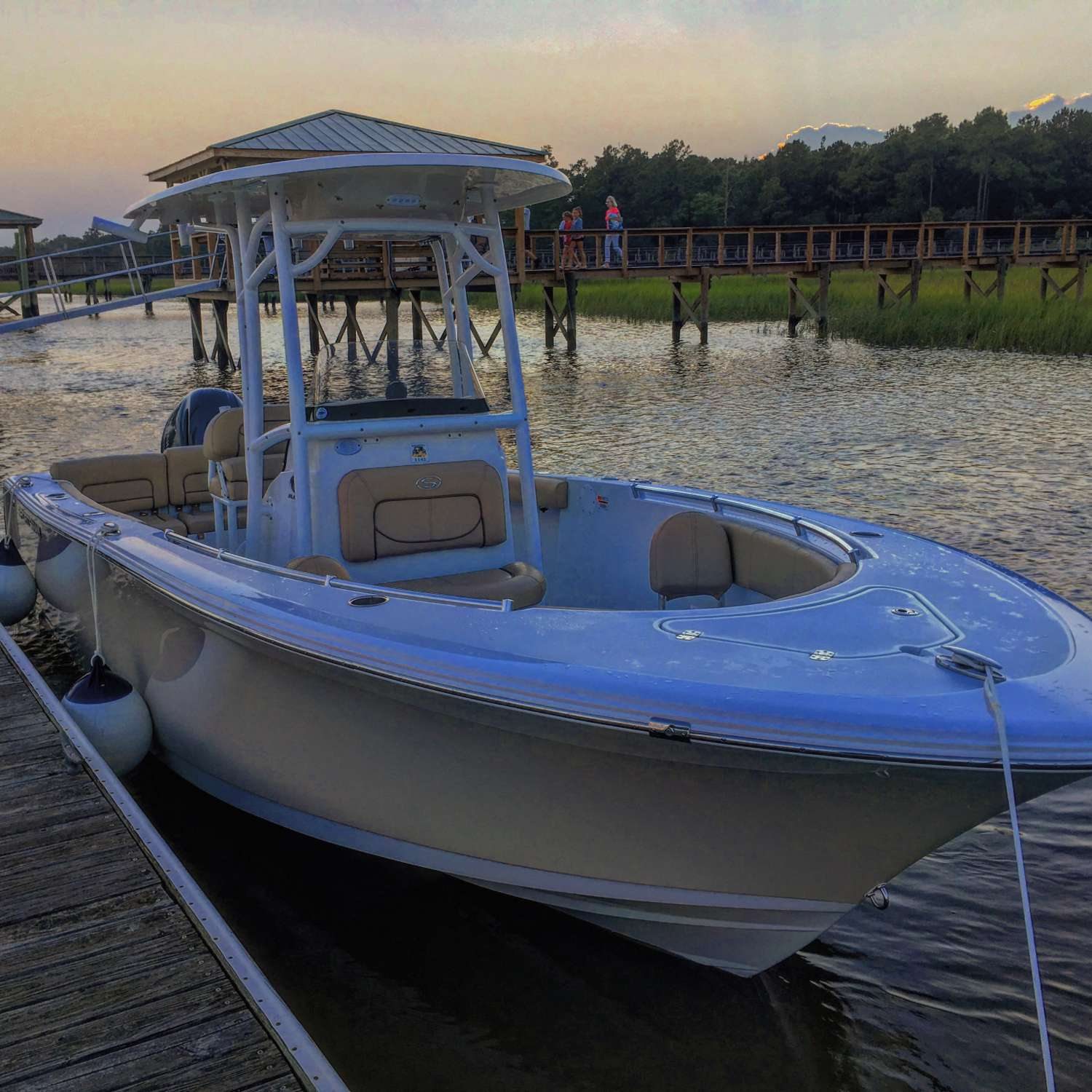 Title: Great Weekend On The Water - On board their Sportsman Heritage 231 Center Console - Location: Charleston, South Carolina. Participating in the Photo Contest #SportsmanJuly2017