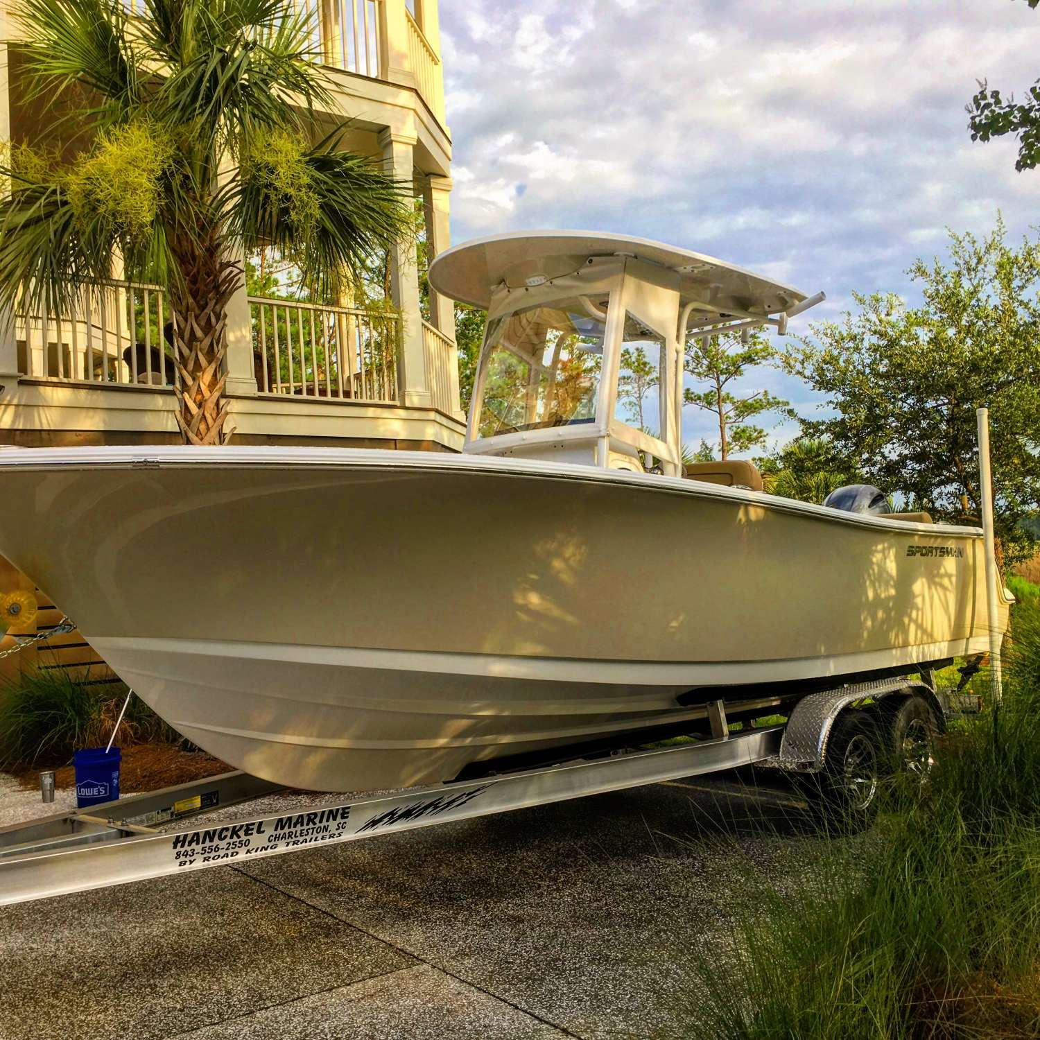 Title: Got Our New Sportsman Home - On board their Sportsman Heritage 231 Center Console - Location: Charleston, South Carolina. Participating in the Photo Contest #SportsmanJuly2017