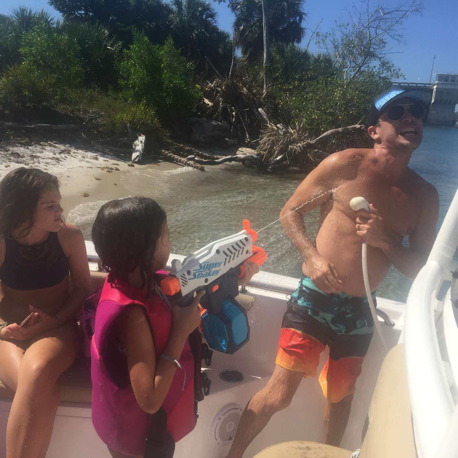 Title: Summertime Fun - On board their Sportsman Open 232 Center Console - Location: Palm Beach Gardens, Florida. Participating in the Photo Contest #SportsmanJuly2017