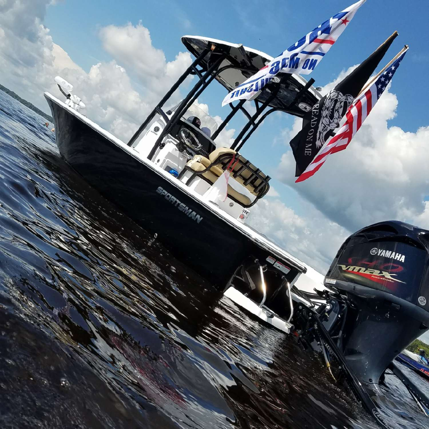 Title: Creek Life - On board their Sportsman Masters 247 Bay Boat - Location: Green Cove Springs, Florida. Participating in the Photo Contest #SportsmanJuly2017