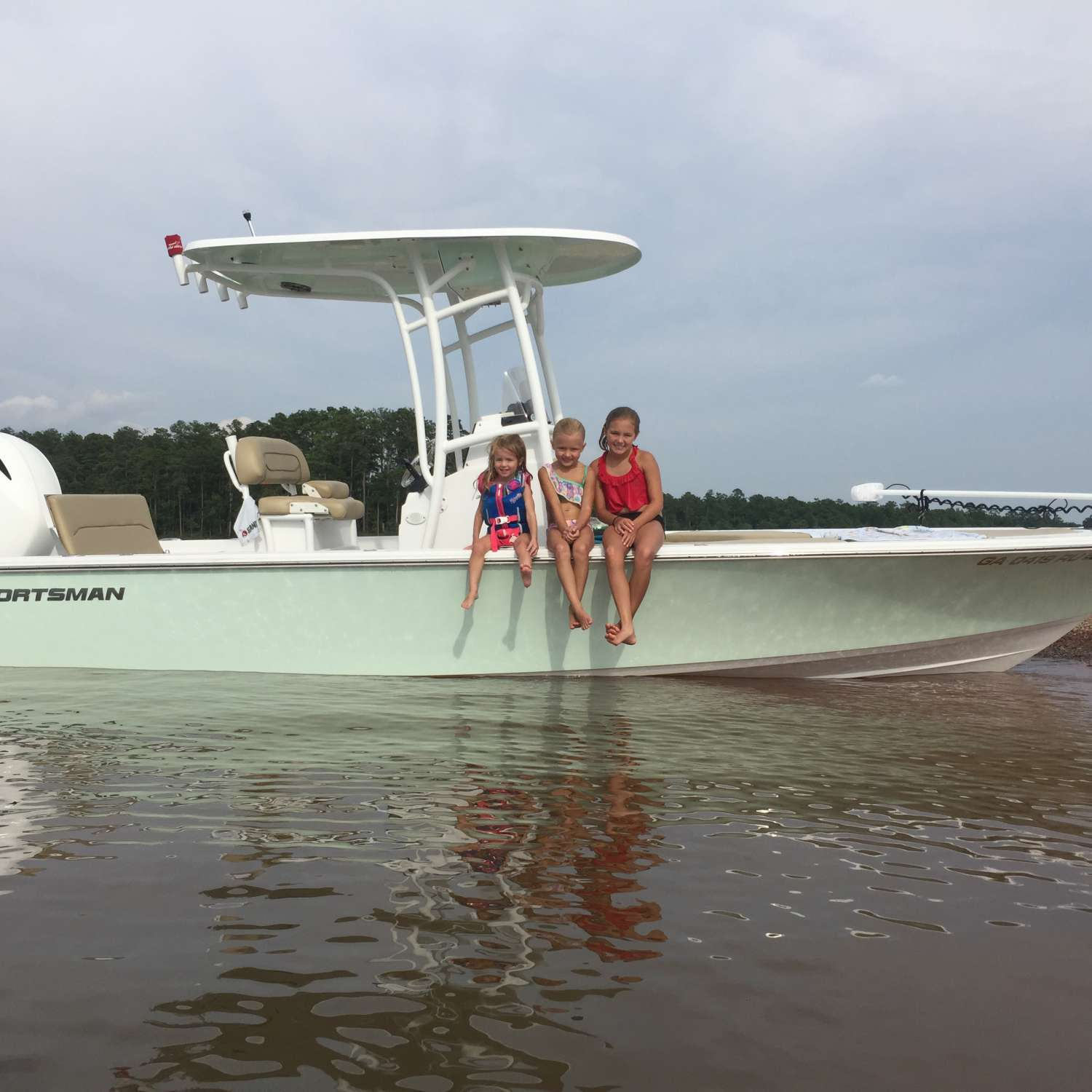 Title: Sunday Funday - On board their Sportsman Masters 227 Bay Boat - Location: Martinez, Georgia. Participating in the Photo Contest #SportsmanJune2017