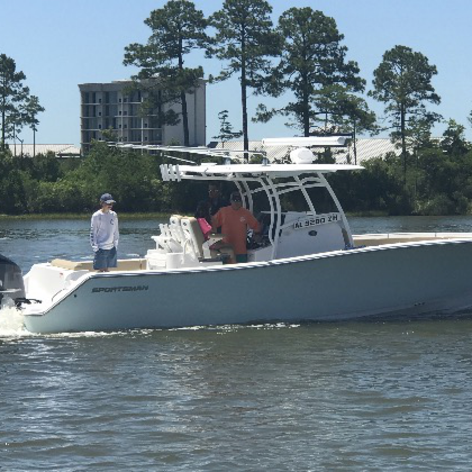 Title: Rich - On board their Sportsman Open 312 Center Console - Location: Orange Beach, Alabama. Participating in the Photo Contest #SportsmanJune2017