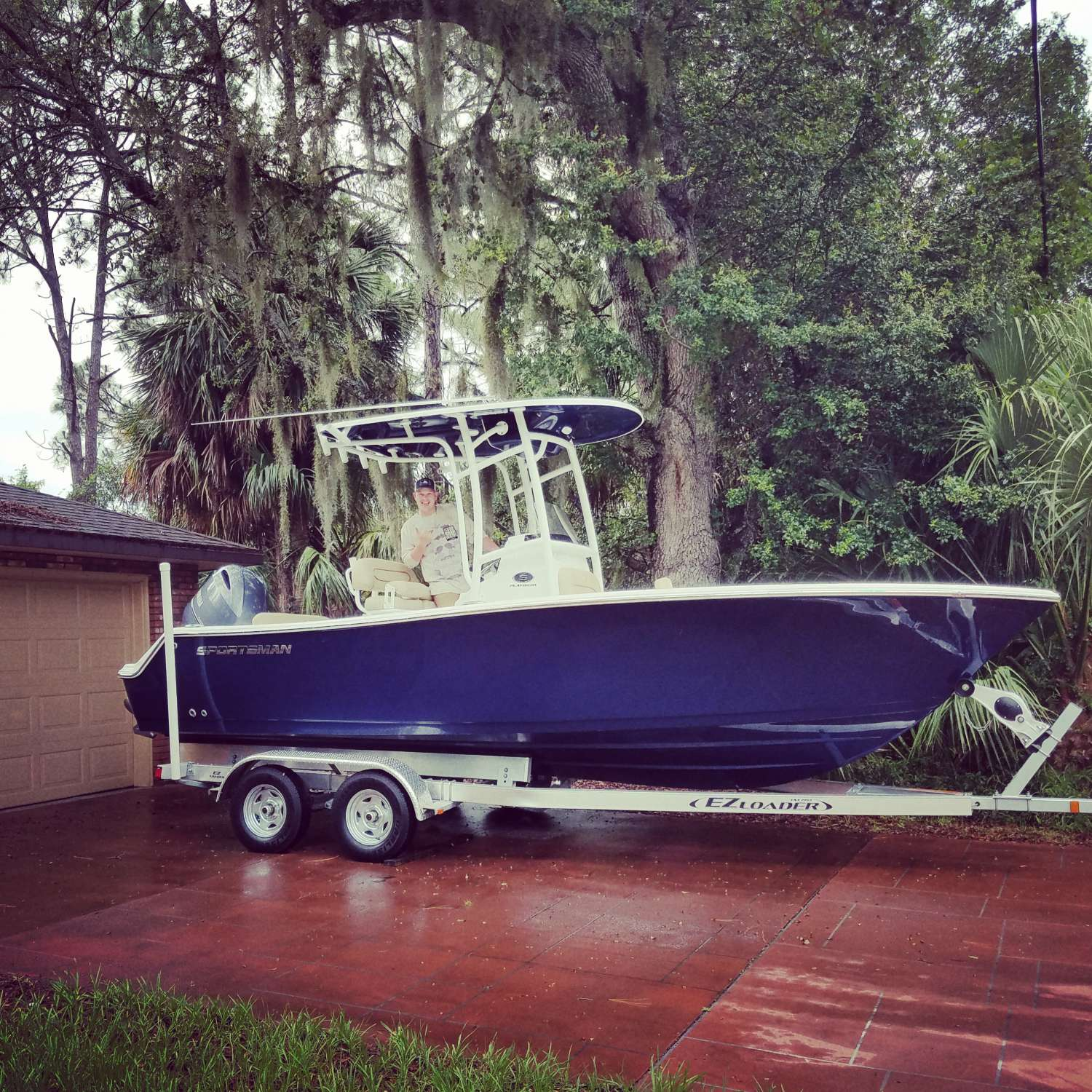 Title: Home At Last - On board their Sportsman Open 212 Center Console - Location: Port Saint Lucie, Florida. Participating in the Photo Contest #SportsmanJune2017