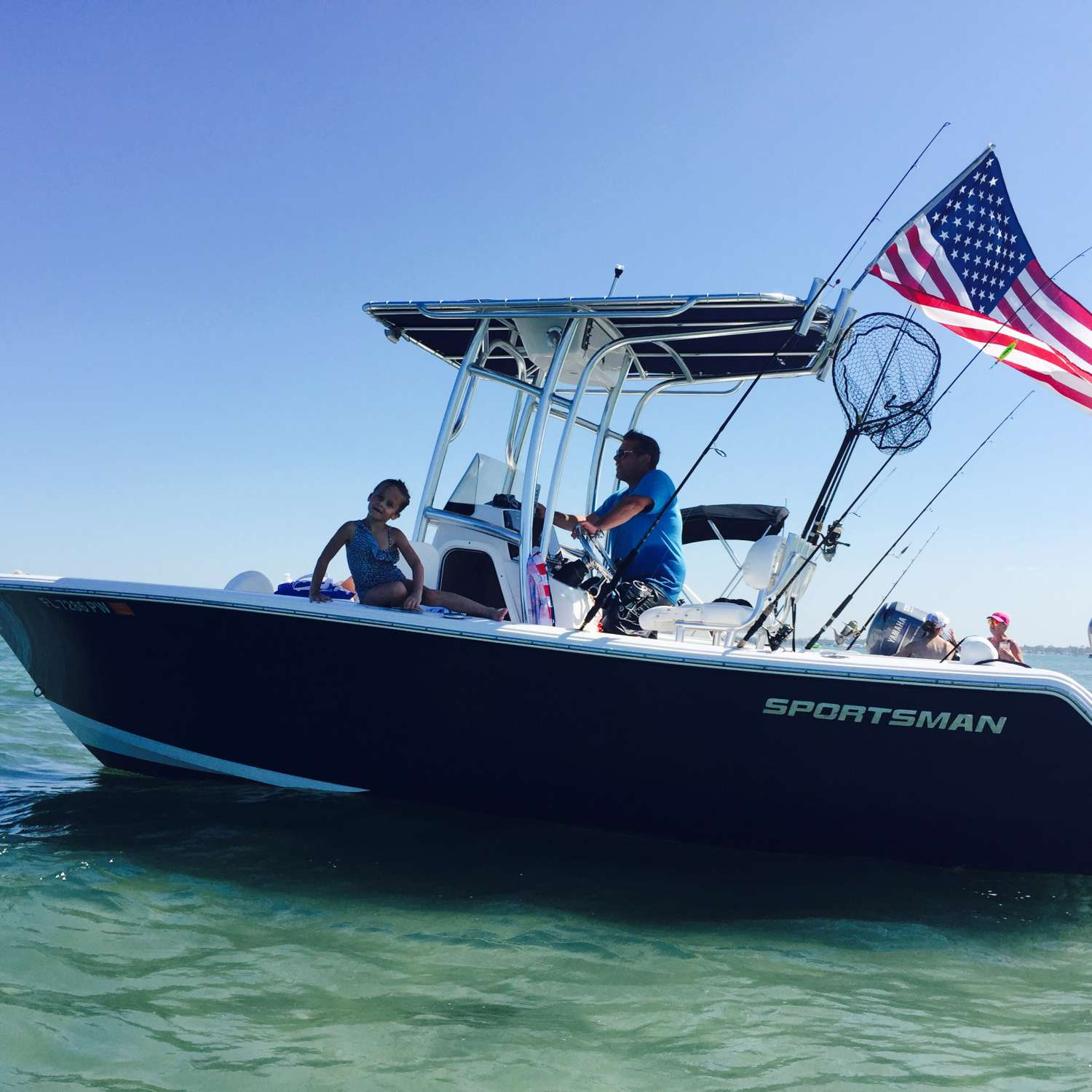 Title: Family Boat Day - On board their Sportsman Heritage 211 Center Console - Location: Sebastian, Florida. Participating in the Photo Contest #SportsmanJune2017