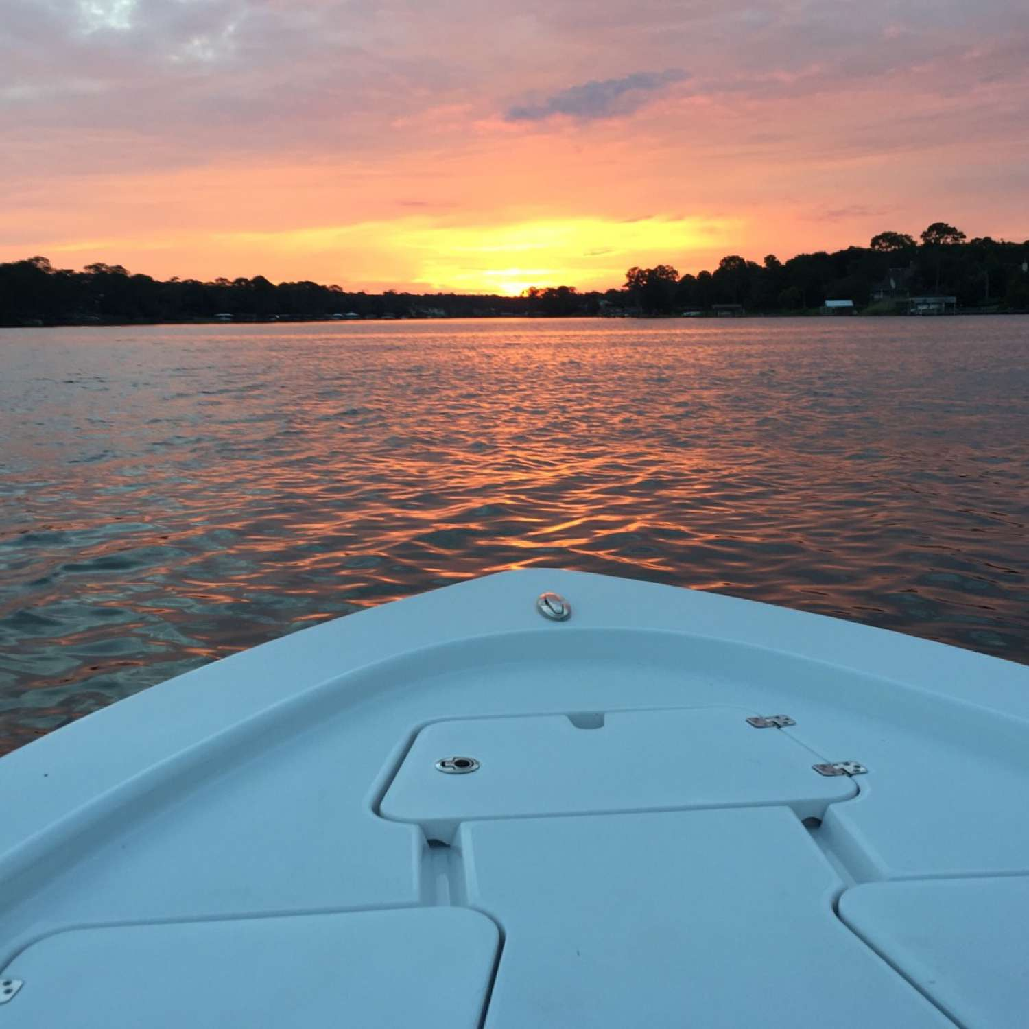Title: Bayou Sunset - On board their Sportsman Masters 207 Bay Boat - Location: Pace, Florida. Participating in the Photo Contest #SportsmanJune2017