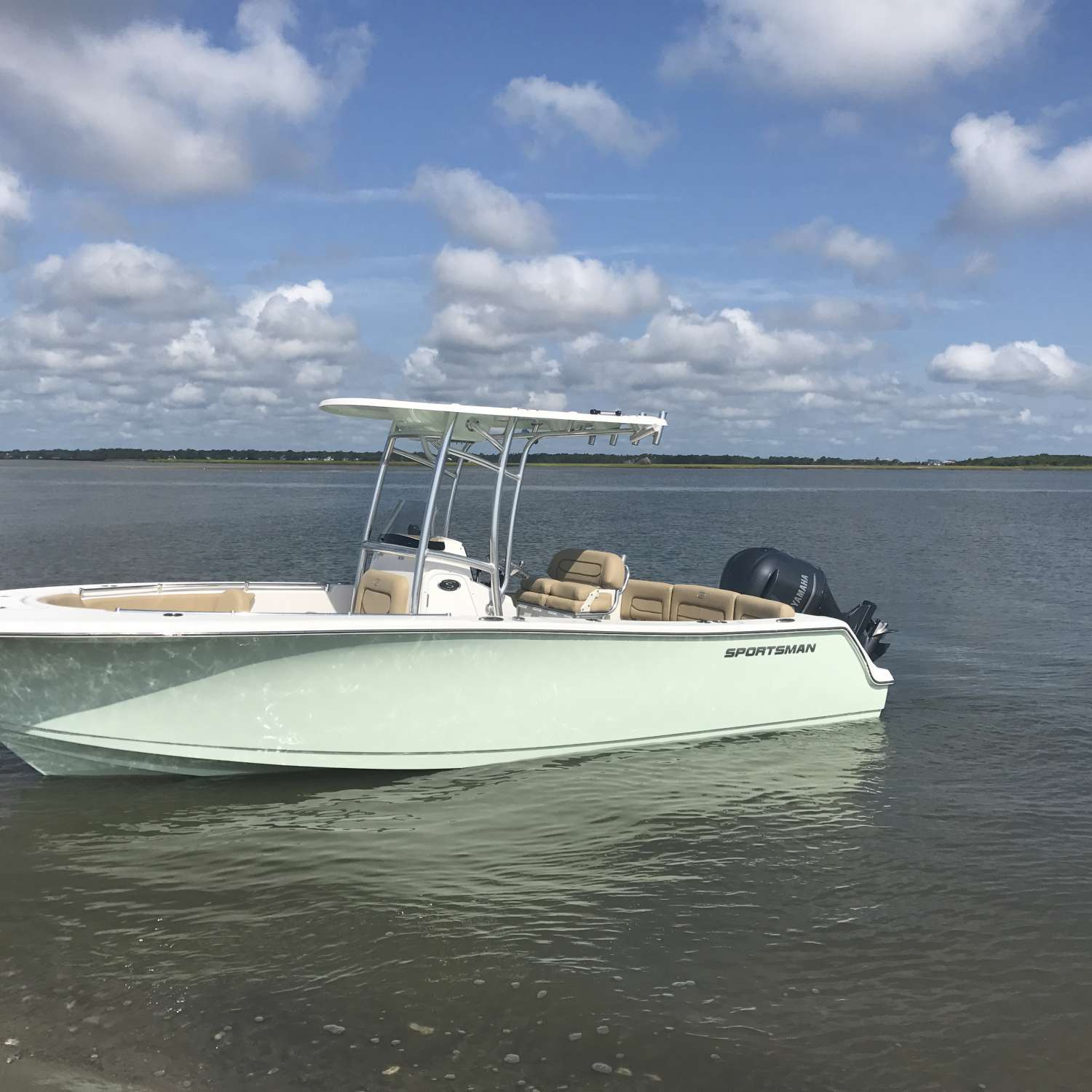 Title: Morris Island, Day 2 On New 231 - On board their Sportsman Heritage 231 Center Console - Location: Johns Island, South Carolina. Participating in the Photo Contest #SportsmanJune2017