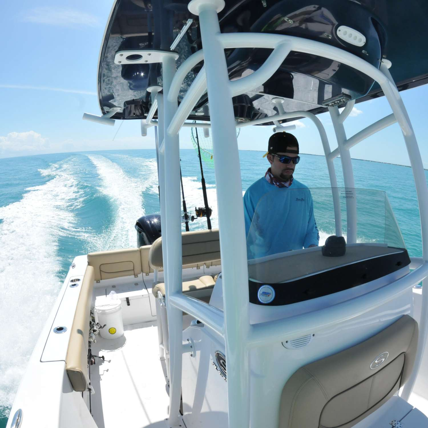 Title: Fishing In The Keys - On board their Sportsman Heritage 231 Center Console - Location: Miami, Florida. Participating in the Photo Contest #SportsmanJune2017