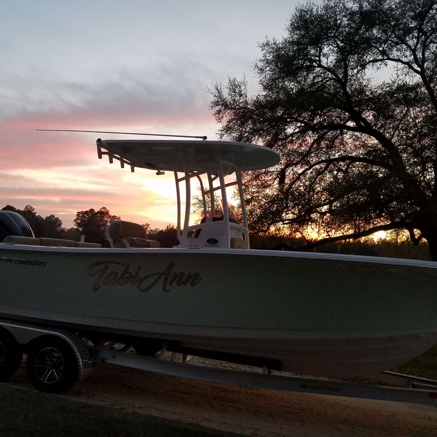 Title: The Tabi Ann - On board their Sportsman Heritage 231 Center Console - Location: Chipley, Florida. Participating in the Photo Contest #SportsmanMarch2017