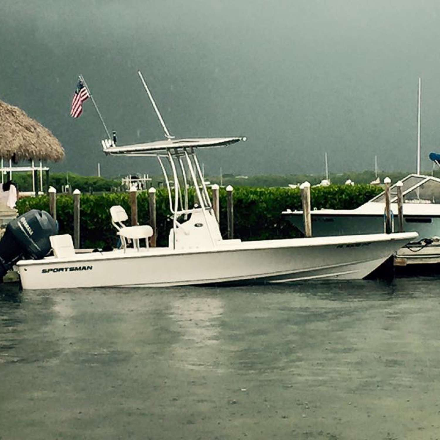 Title: Cloudy In The Keys - On board their Sportsman Tournament 214 SBX Bay Boat (Pre-2020) - Location: Royal Palm Beach, Florida. Participating in the Photo Contest #SportsmanMarch2017
