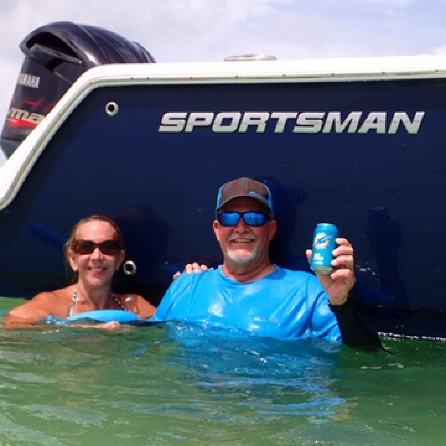 Title: Pre Irma - On board their Sportsman Open 232 Center Console - Location: Marathon, fla. Participating in the Photo Contest #SportsmanNovember2017