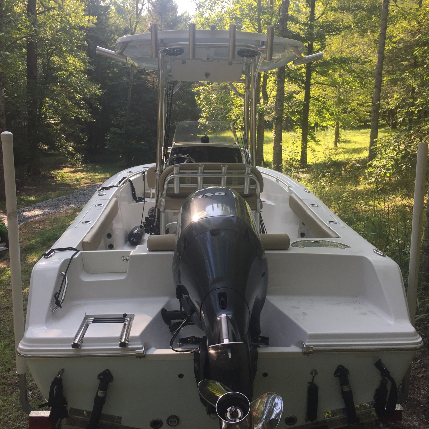 Title: TCB - On board their Sportsman Open 212 Center Console - Location: Cleveland, SC. Participating in the Photo Contest #SportsmanNovember2017