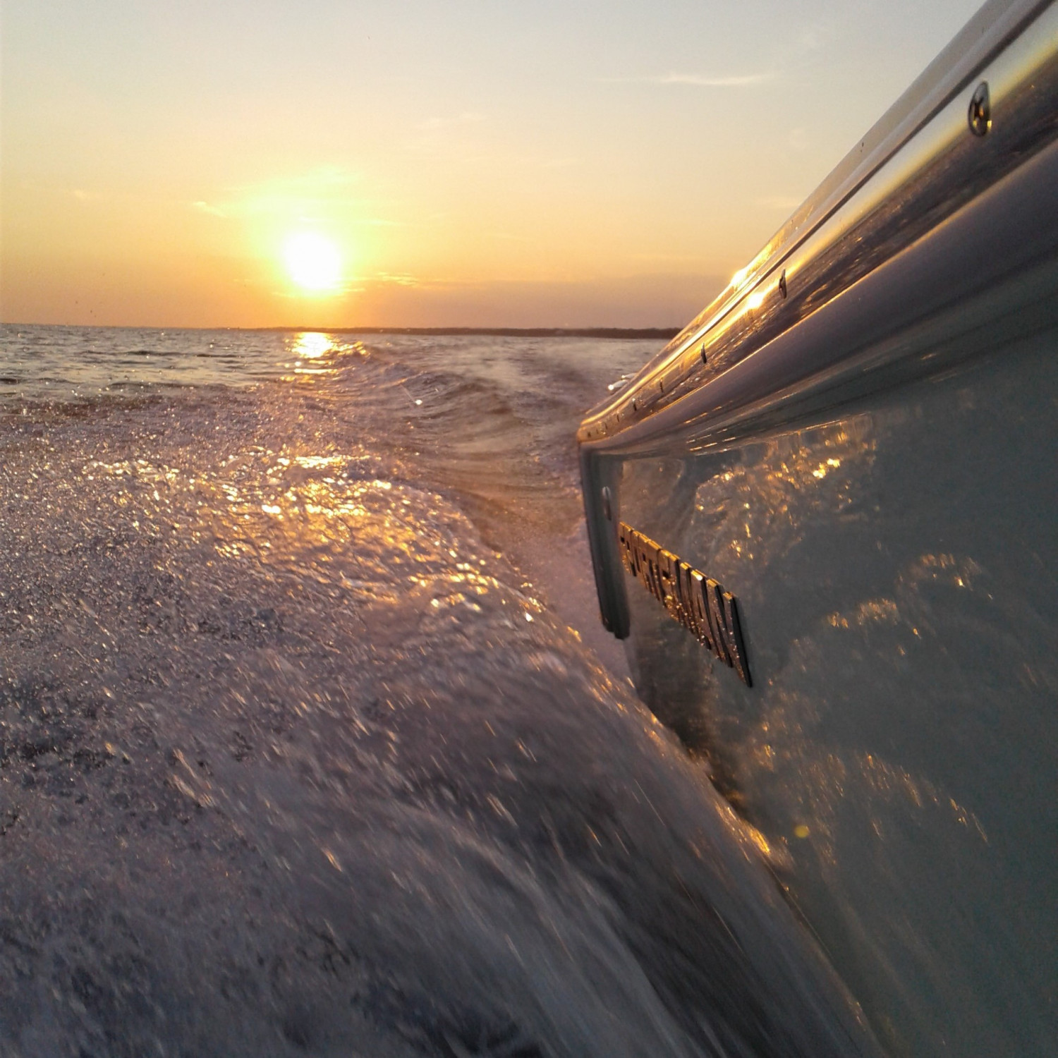 Title: It doesn't get any better.... - On board their Sportsman Heritage 211 Center Console - Location: Navarre FL. Participating in the Photo Contest #SportsmanNovember2017