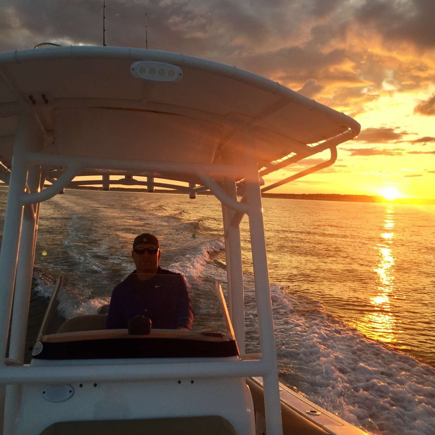 Title: Paradise Found - On board their Sportsman Open 212 Center Console - Location: Eliot, Maine. Participating in the Photo Contest #SportsmanSeptember2017