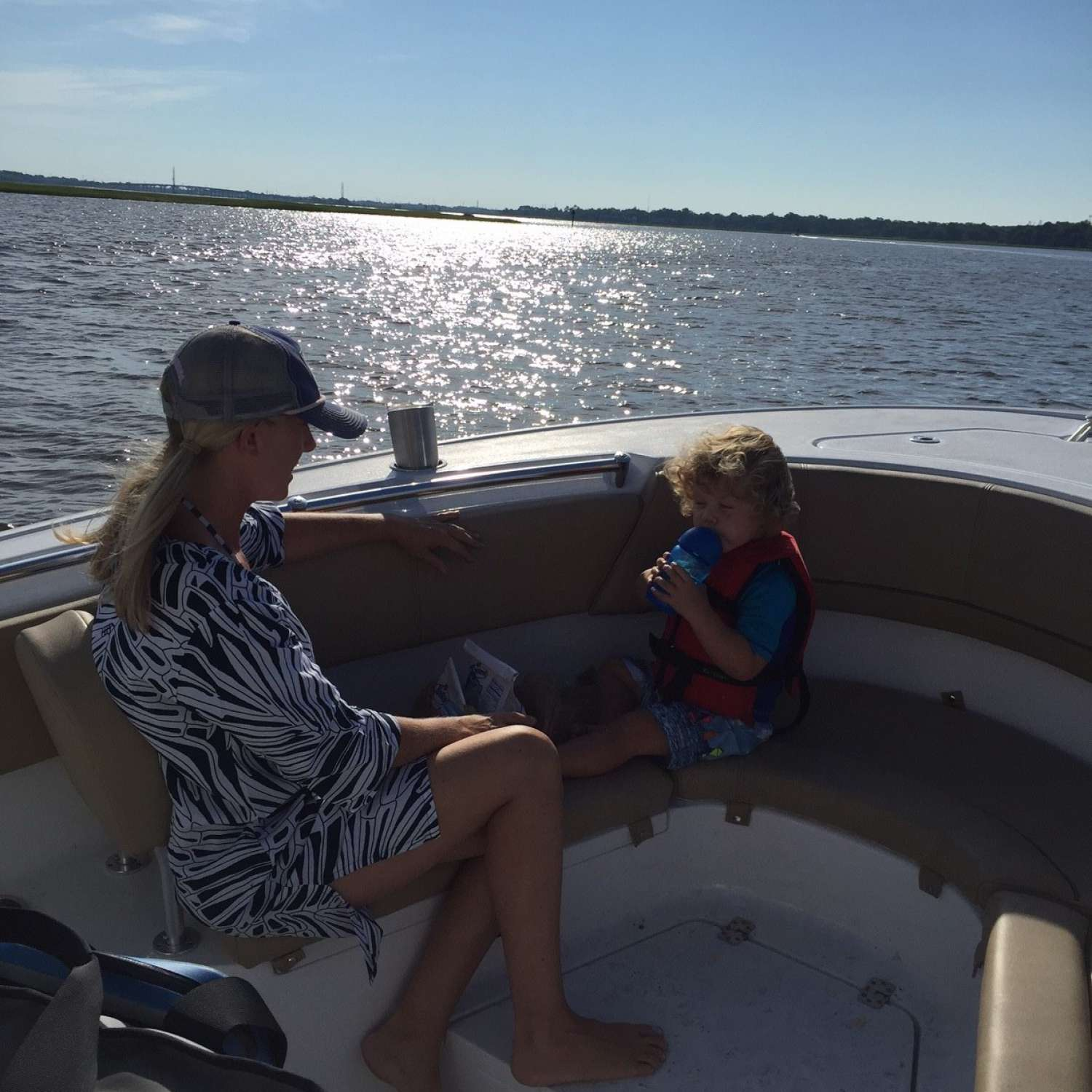 Title: Sunday Fun Day - On board their Sportsman Heritage 231 Center Console - Location: Summerville, South Carolina. Participating in the Photo Contest #SportsmanSeptember2017