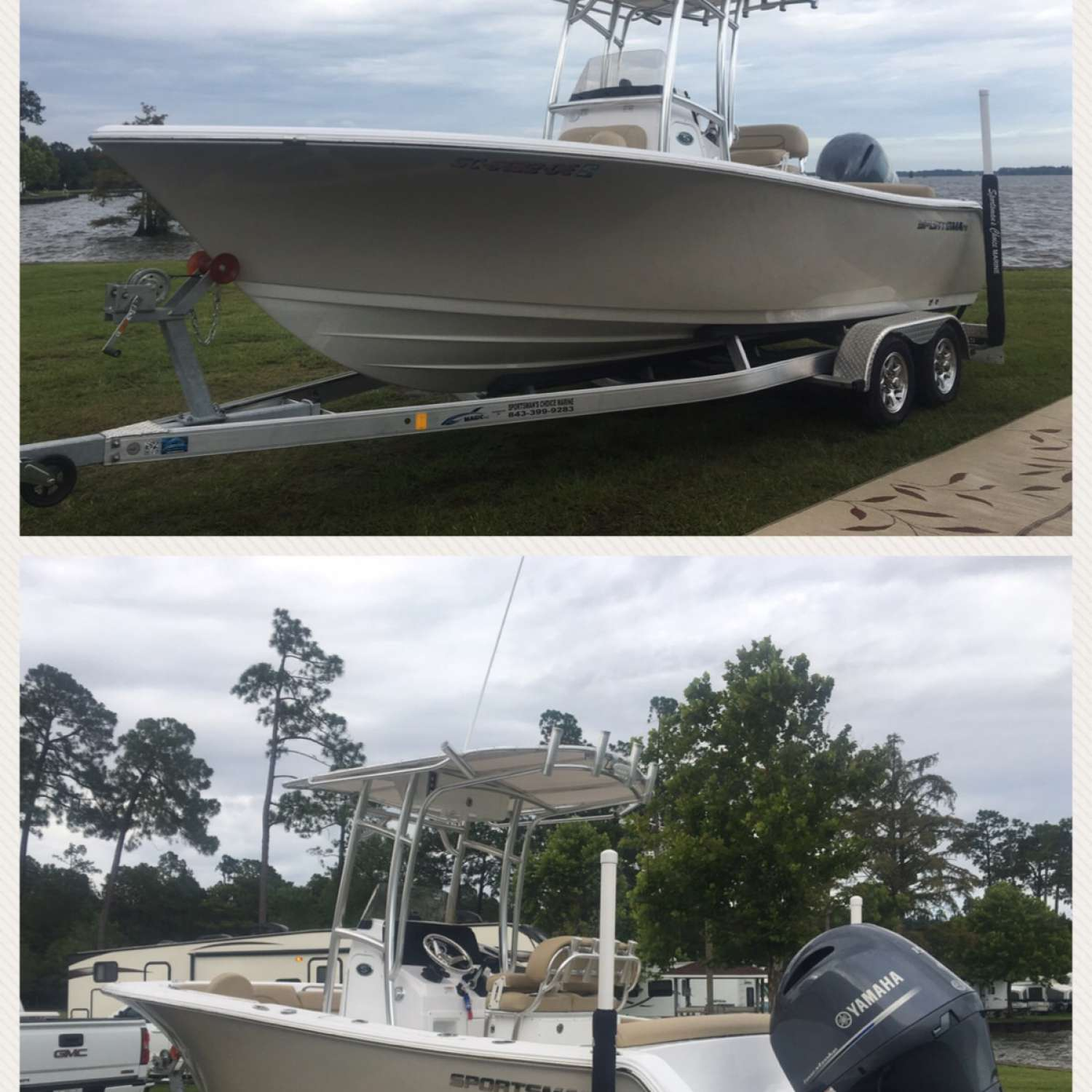 Title: Reggie's Sportsman - On board their Sportsman Heritage 211 Center Console - Location: Conway, South Carolina. Participating in the Photo Contest #SportsmanSeptember2017