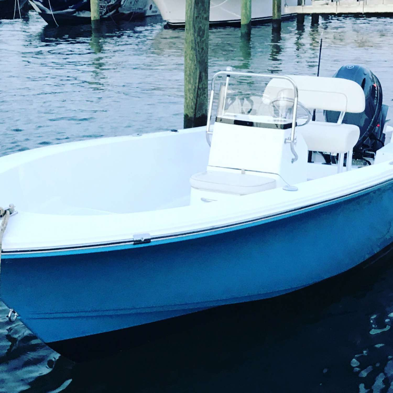 Title: Island Reef 19 - On board their Sportsman Island Reef 19 Center Console - Location: Wall, New Jersey. Participating in the Photo Contest #SportsmanSeptember2017