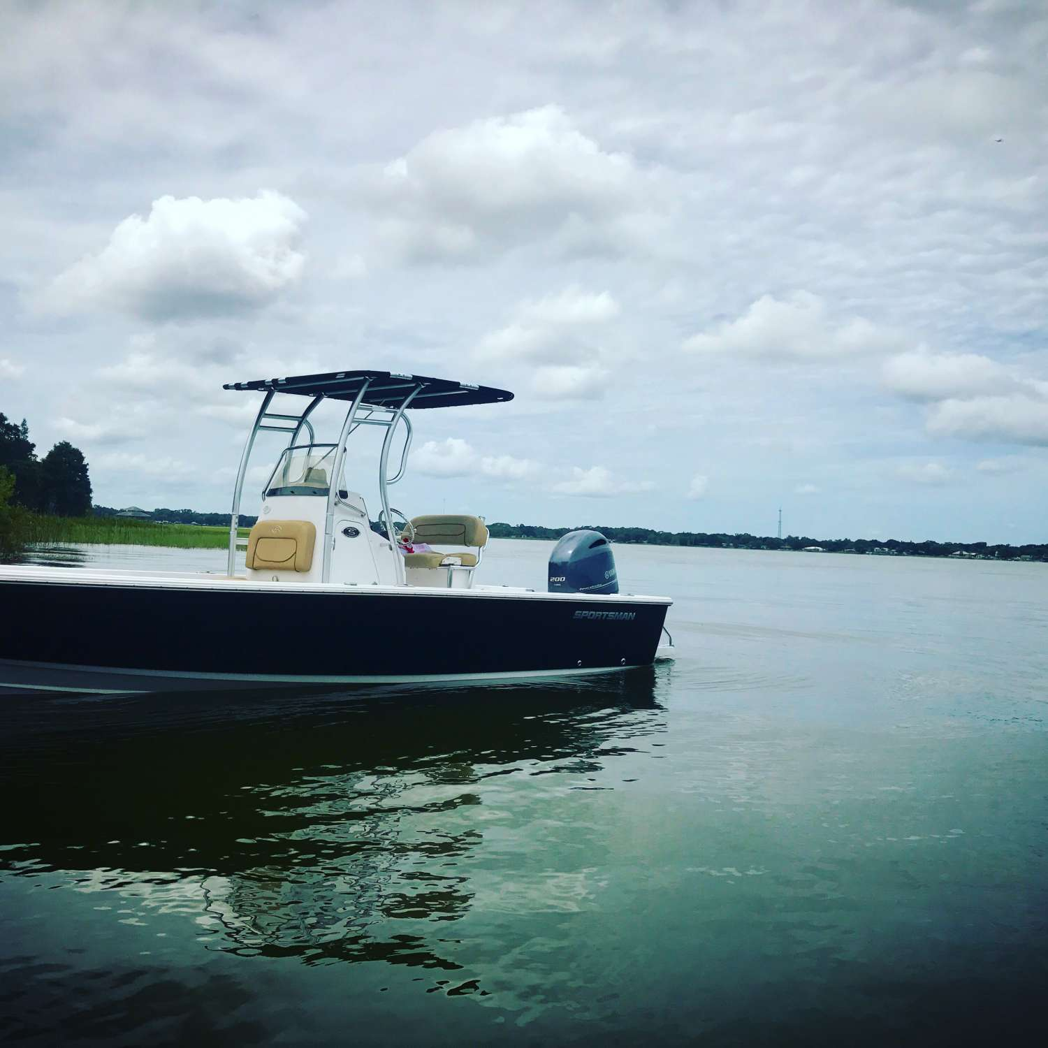 Title: Sportsman 227 - On board their Sportsman Masters 227 Bay Boat - Location: Lakeland, Florida. Participating in the Photo Contest #SportsmanSeptember2017