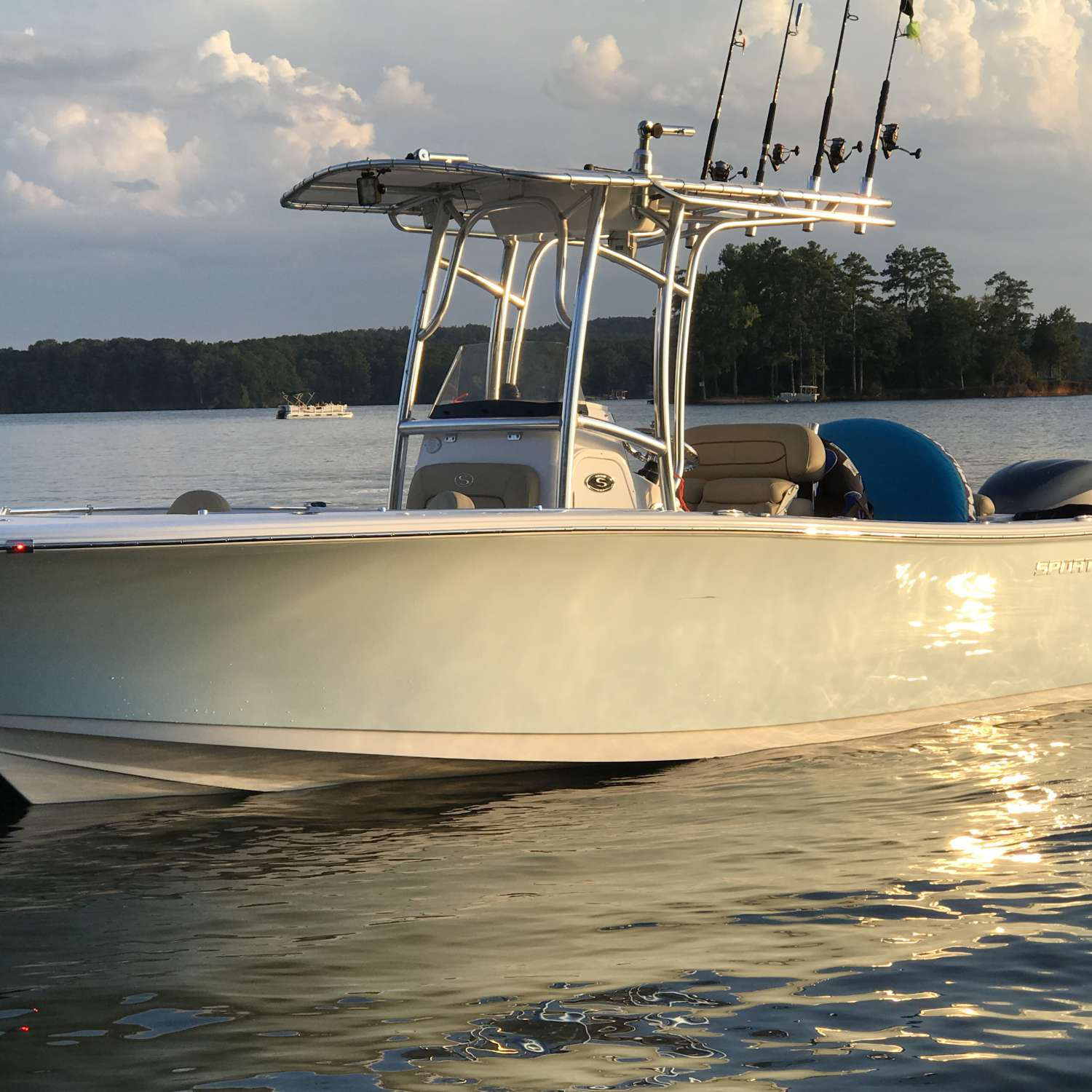 Title: Marco Polo Ii - On board their Sportsman Open 232 Center Console - Location: Sumter, South Carolina. Participating in the Photo Contest #SportsmanSeptember2017