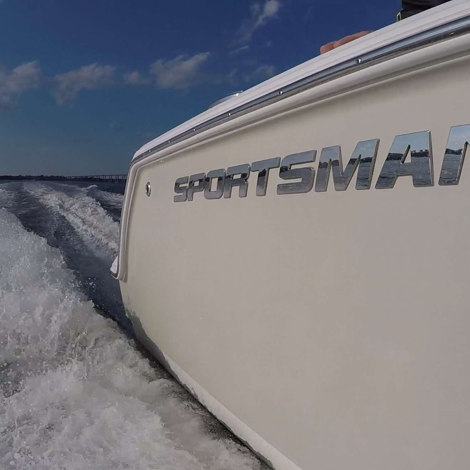 Title: Labor Day Cruising In Sportsman - On board their Sportsman Heritage 231 Center Console - Location: Charleston, South Carolina. Participating in the Photo Contest #SportsmanSeptember2017