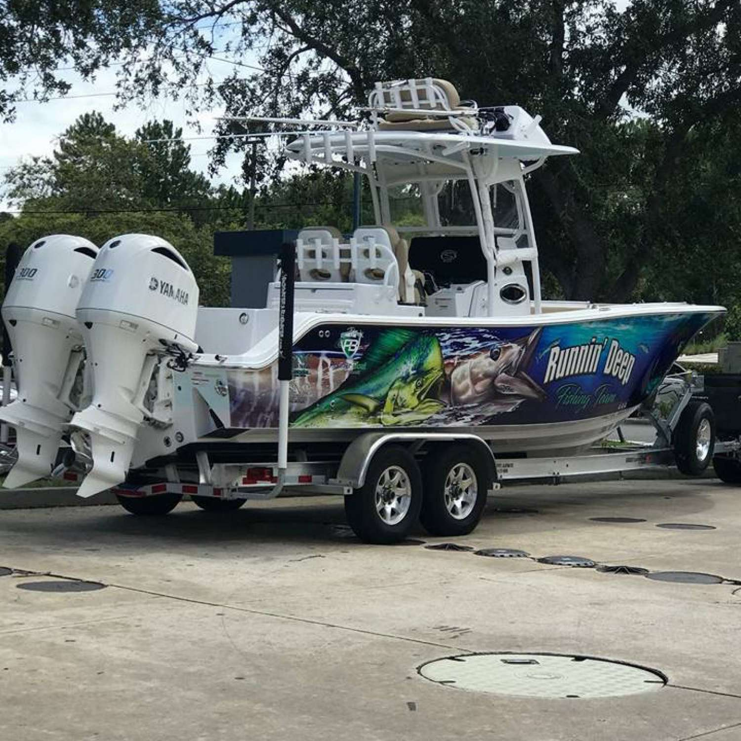 Title: Wrapped And Ready - On board their Sportsman Open 282 Center Console - Location: St. Augustine, Florida. Participating in the Photo Contest #SportsmanSeptember2017