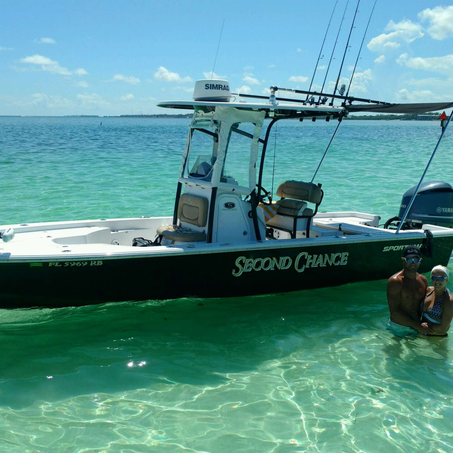 Title: Sandbar - On board their Sportsman Masters 247 Bay Boat - Location: Naples, Florida. Participating in the Photo Contest #SportsmanSeptember2017