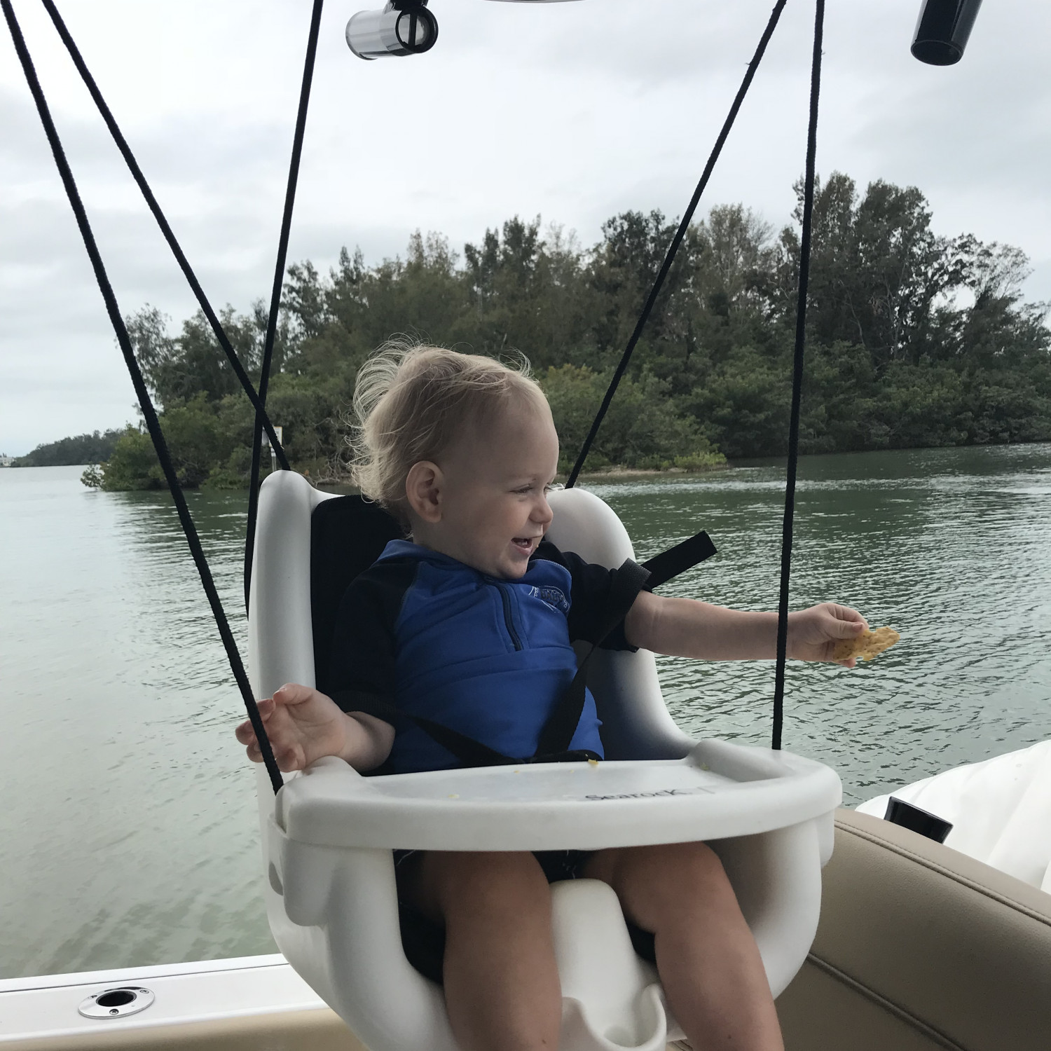 Title: Swinging Baby! - On board their Sportsman Heritage 251 Center Console - Location: Sarasota, Fl. Participating in the Photo Contest #SportsmanApril2018