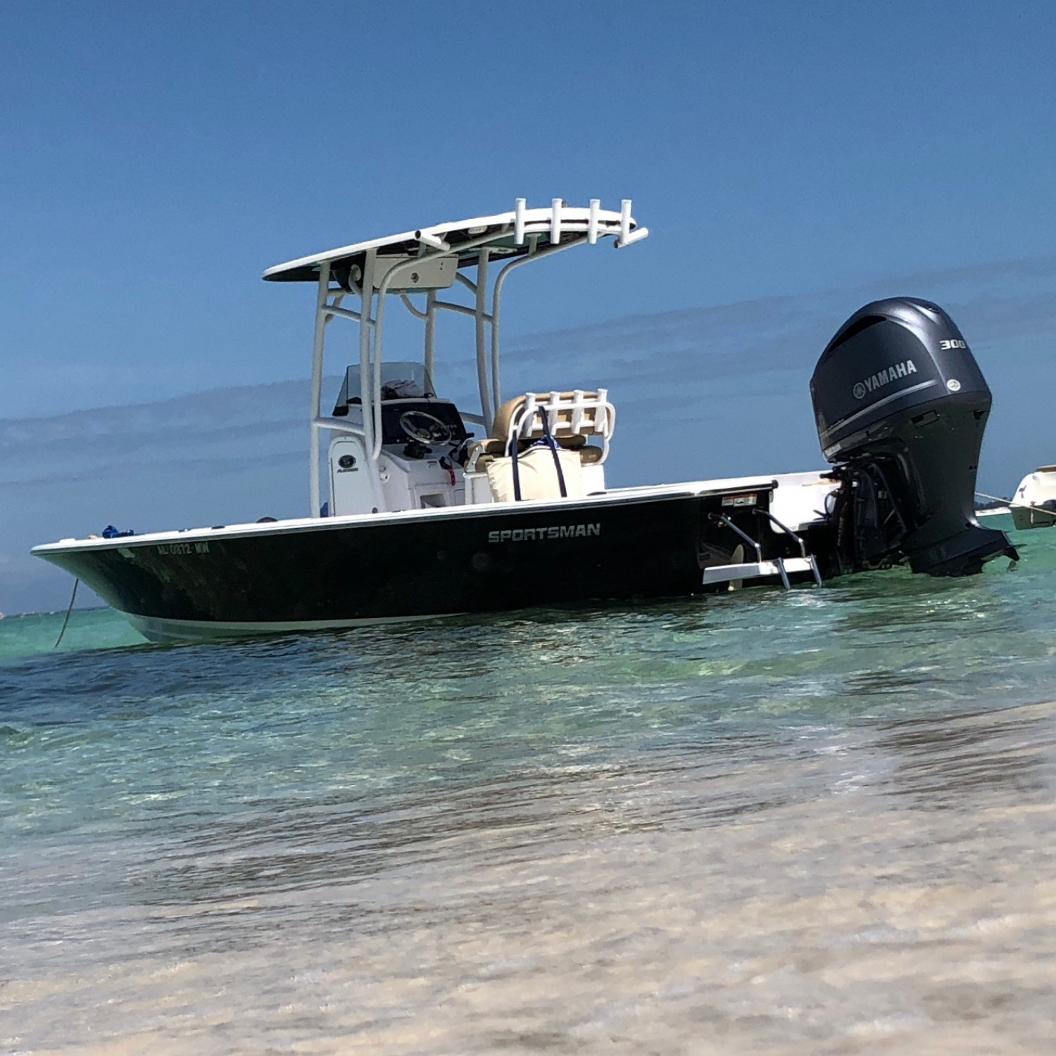 Title: Spring break in Qrange Beach,AL - On board their Sportsman Masters 247 Bay Boat - Location: Orange Beach, AL. Participating in the Photo Contest #SportsmanApril2018