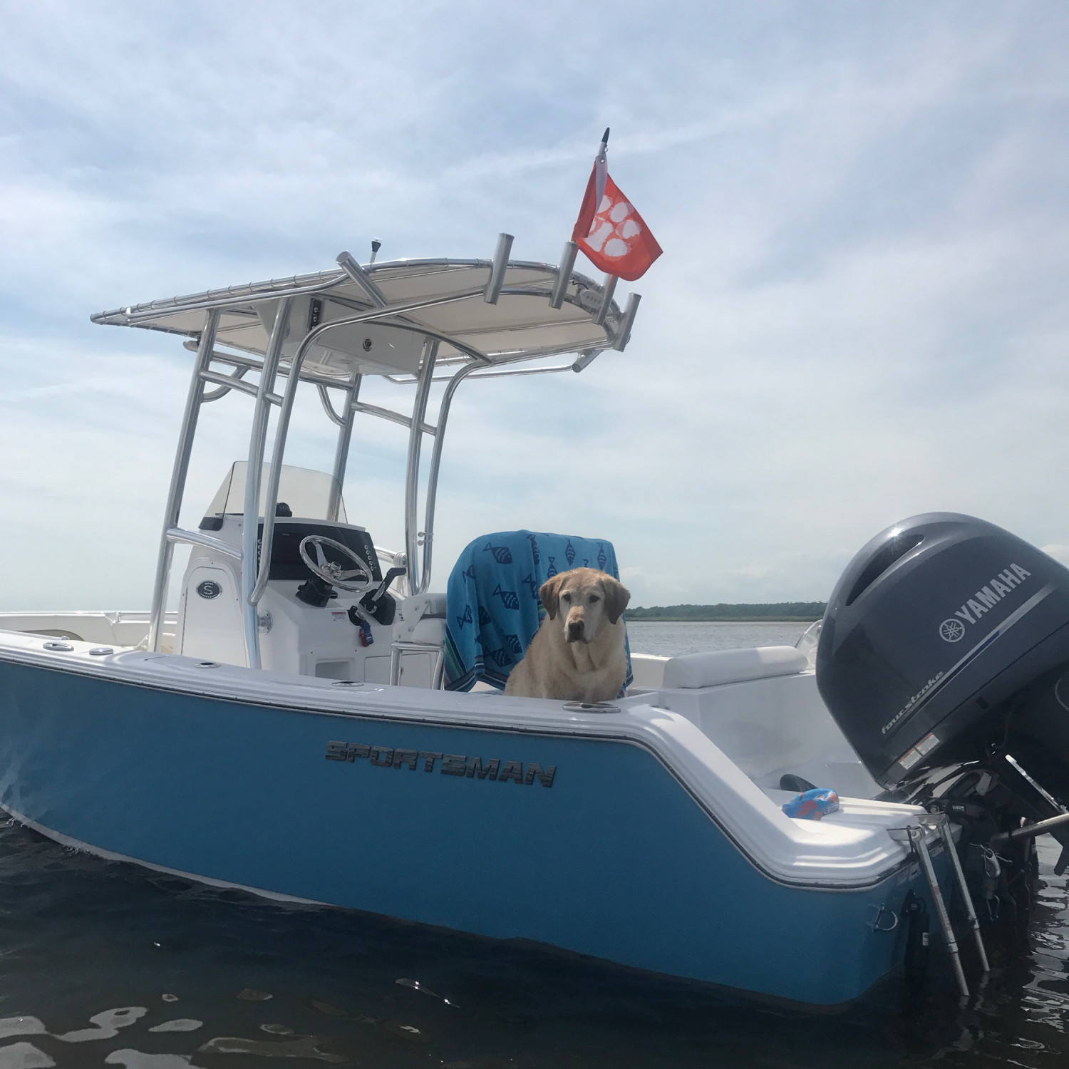 Title: This is my boat! Wood - On board their Sportsman Open 212 Center Console - Location: Myrtle Beach SC. Participating in the Photo Contest #SportsmanApril2018