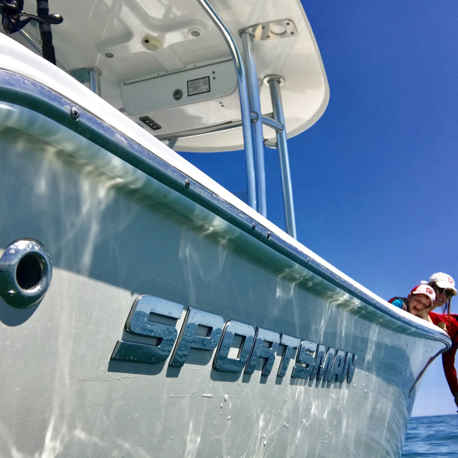 Title: Florida Dayz - On board their Sportsman Heritage 211 Center Console - Location: Just offshore near Sebastian Inlet, FL.. Participating in the Photo Contest #SportsmanApril2018