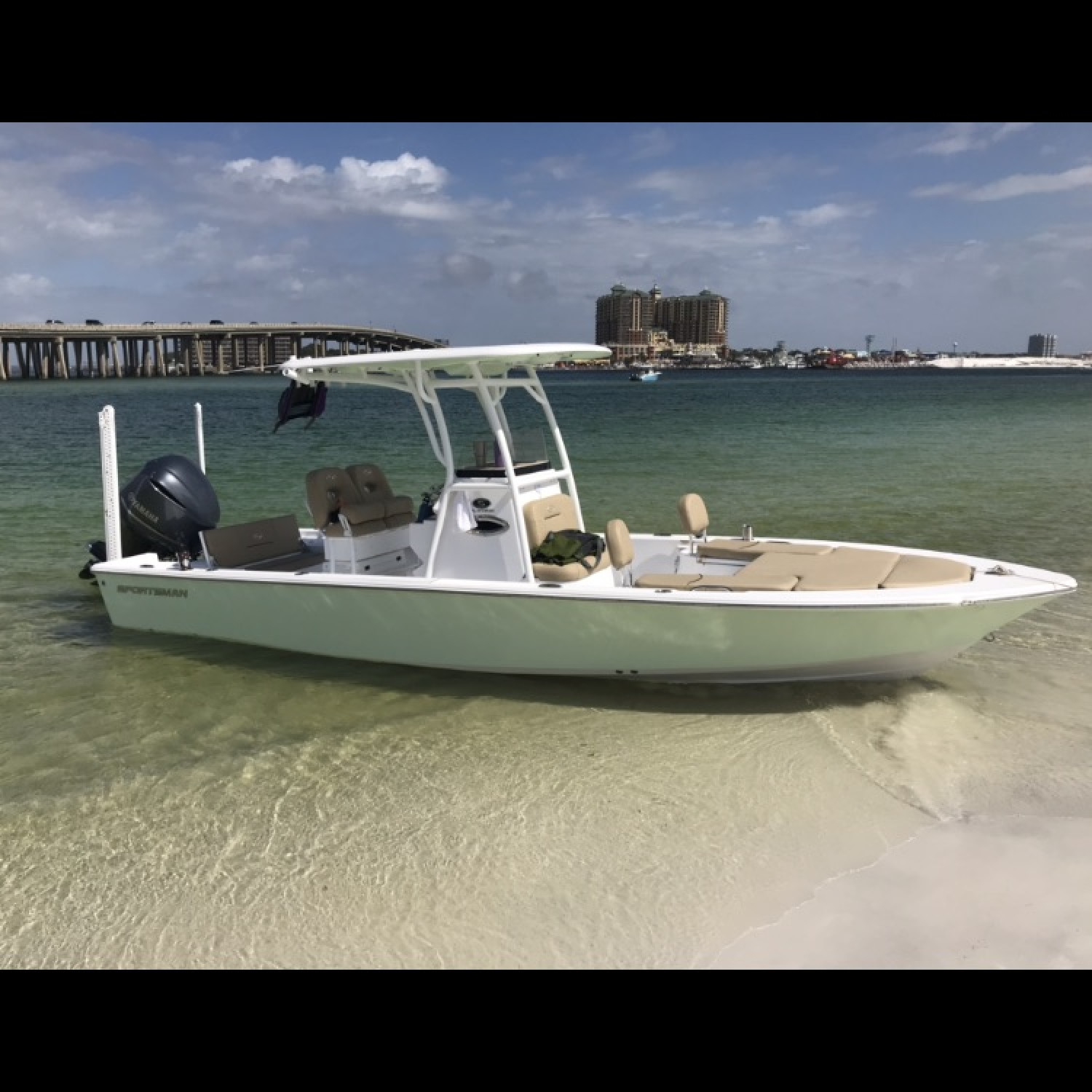 Title: Destin 247 Sportsman - On board their Sportsman Masters 247 Bay Boat - Location: Destin FL. Participating in the Photo Contest #SportsmanApril2018