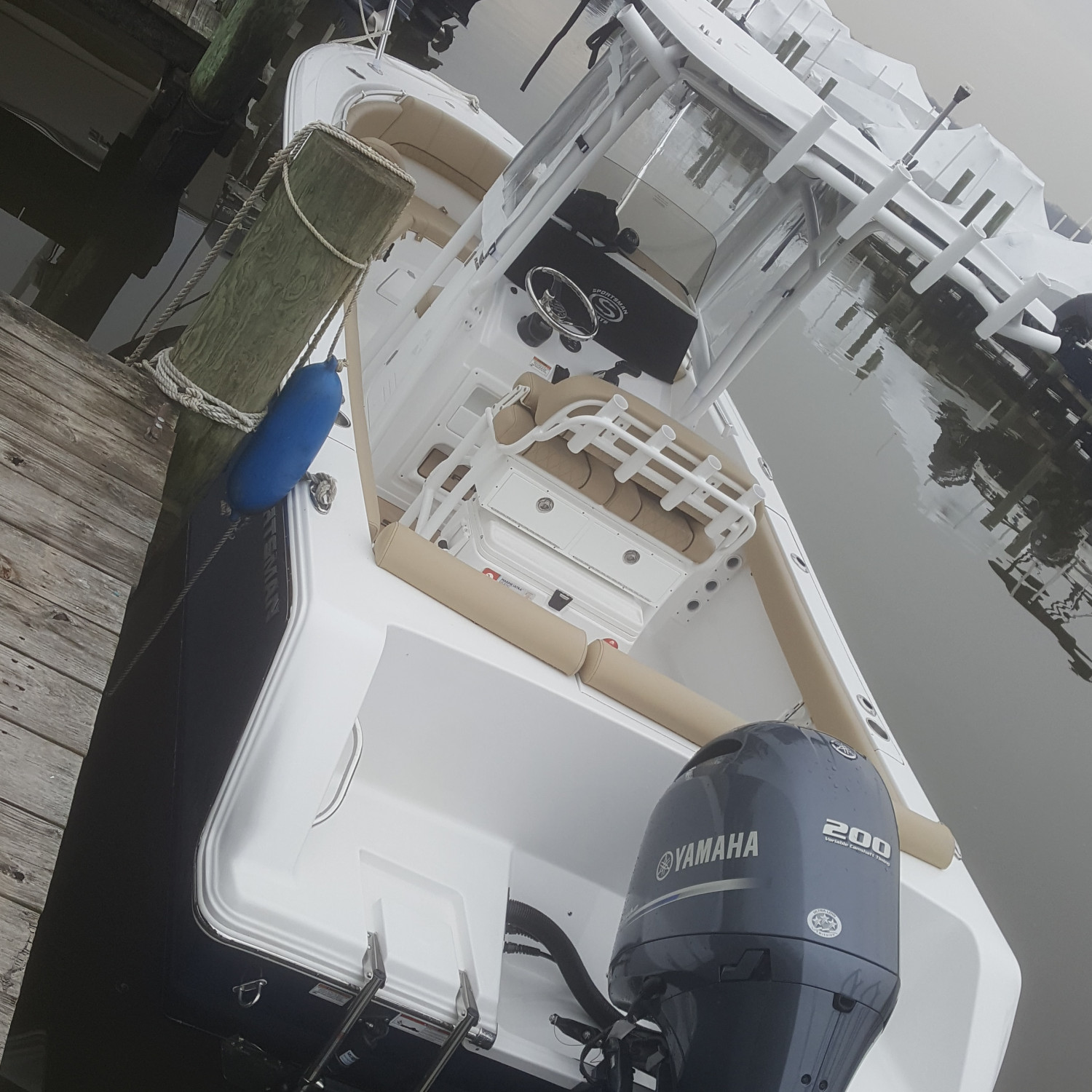 Title: My first boat!!! - On board their Sportsman Heritage 231 Center Console - Location: Queenstown, MD. Participating in the Photo Contest #SportsmanApril2018