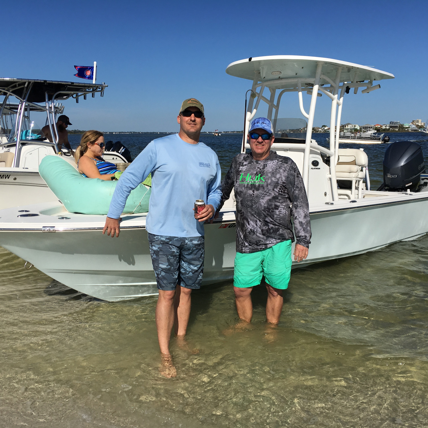 Title: 247 Admins - On board their Sportsman Masters 247 Bay Boat - Location: Orange Beach AL. Participating in the Photo Contest #SportsmanApril2018