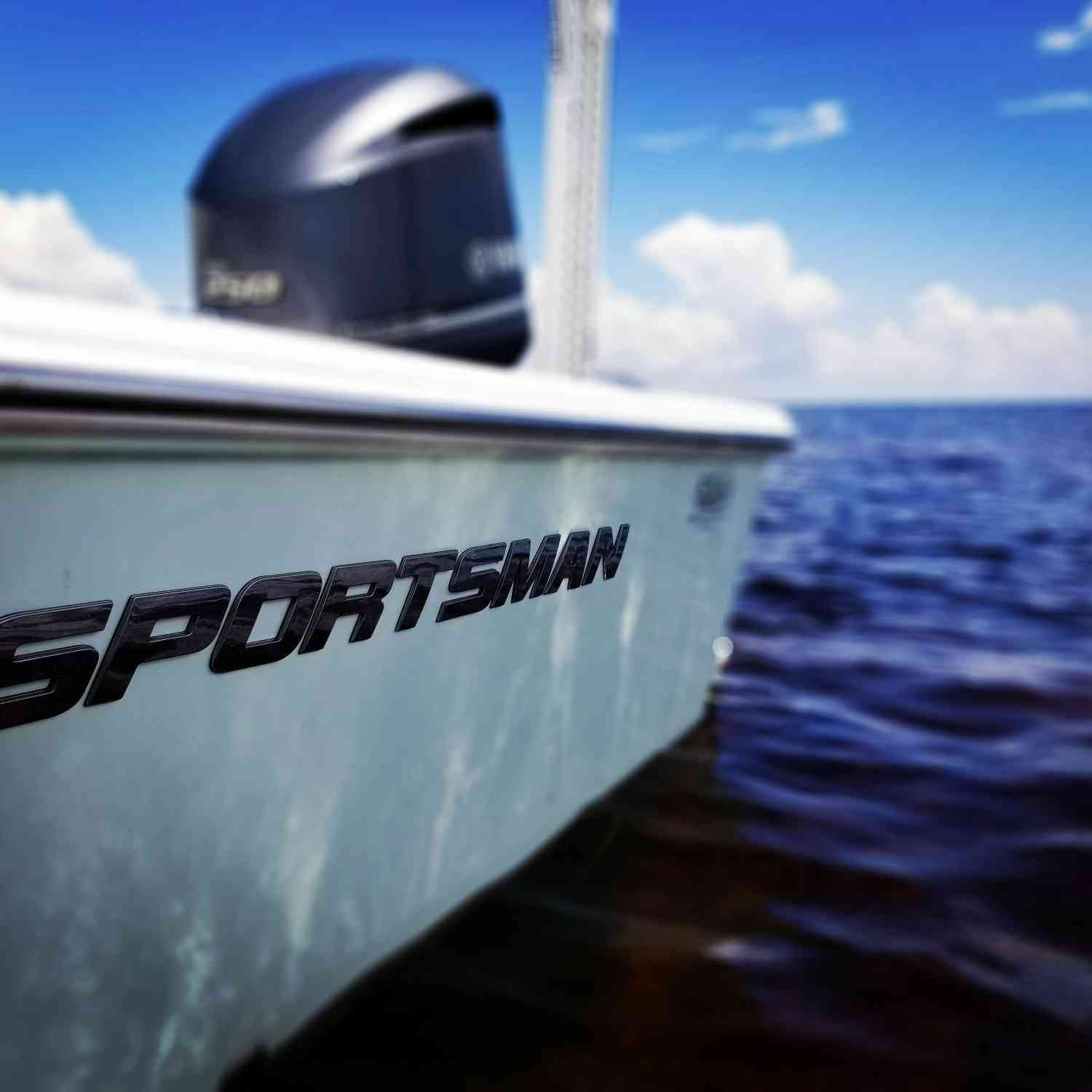 Title: If it's not a Sportsman, it's a blur. - On board their Sportsman Masters 247 Bay Boat - Location: St. Mark's, Florida. Participating in the Photo Contest #SportsmanAugust2018