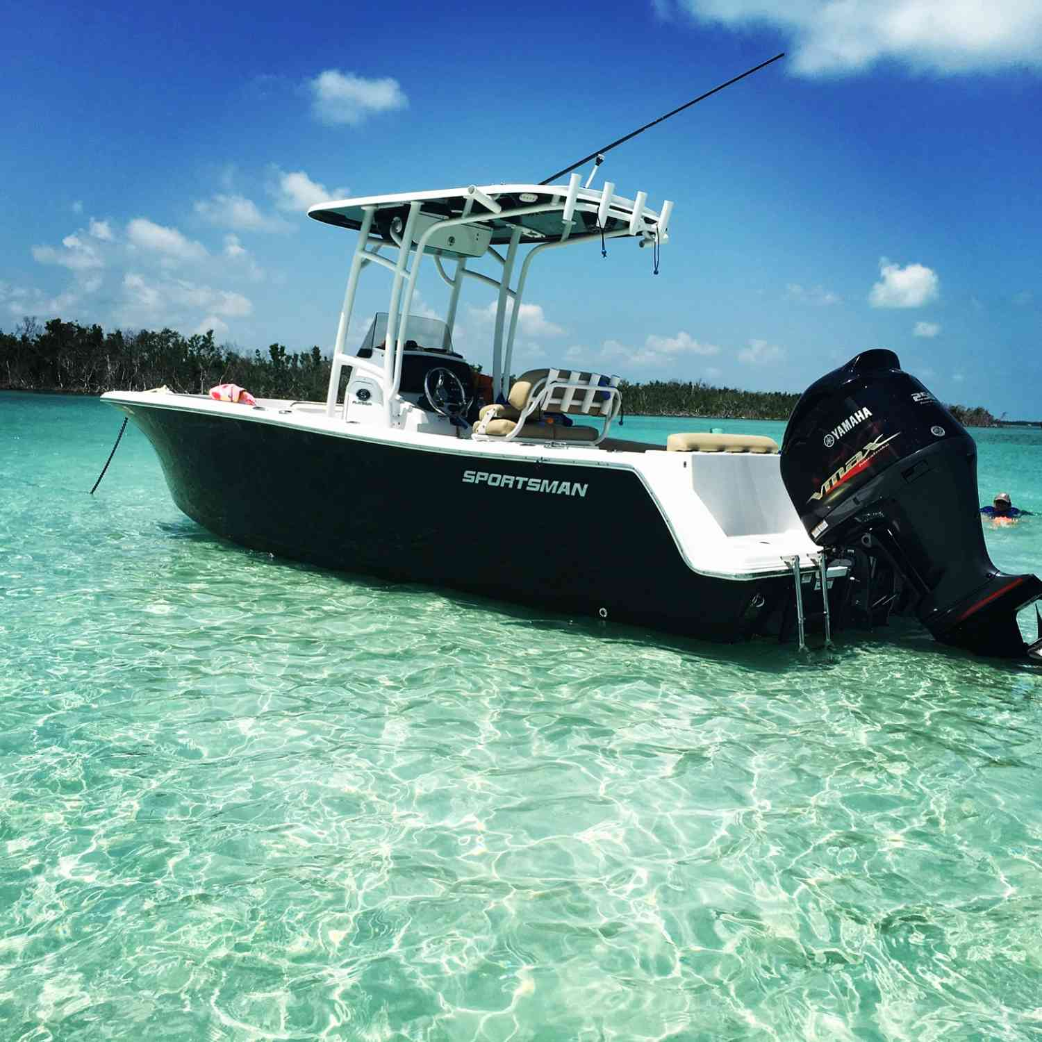 Title: Easy days - On board their Sportsman Open 232 Center Console - Location: Key west Fl. Participating in the Photo Contest #SportsmanAugust2018