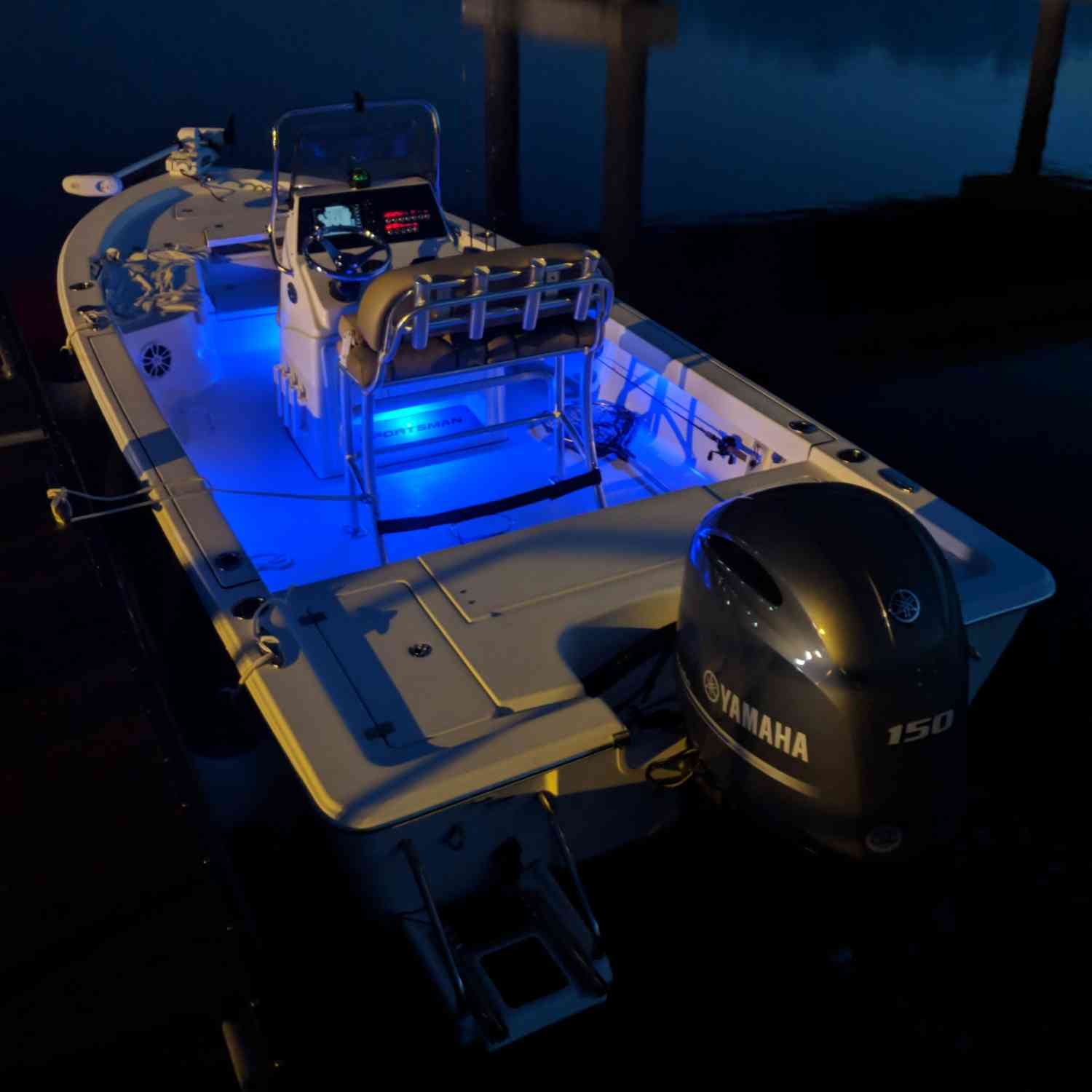 Title: Ready to Roll - Summertime bite is Pre-Dawn! - On board their Sportsman Masters 207 Bay Boat - Location: Charleston SC. Participating in the Photo Contest #SportsmanAugust2018