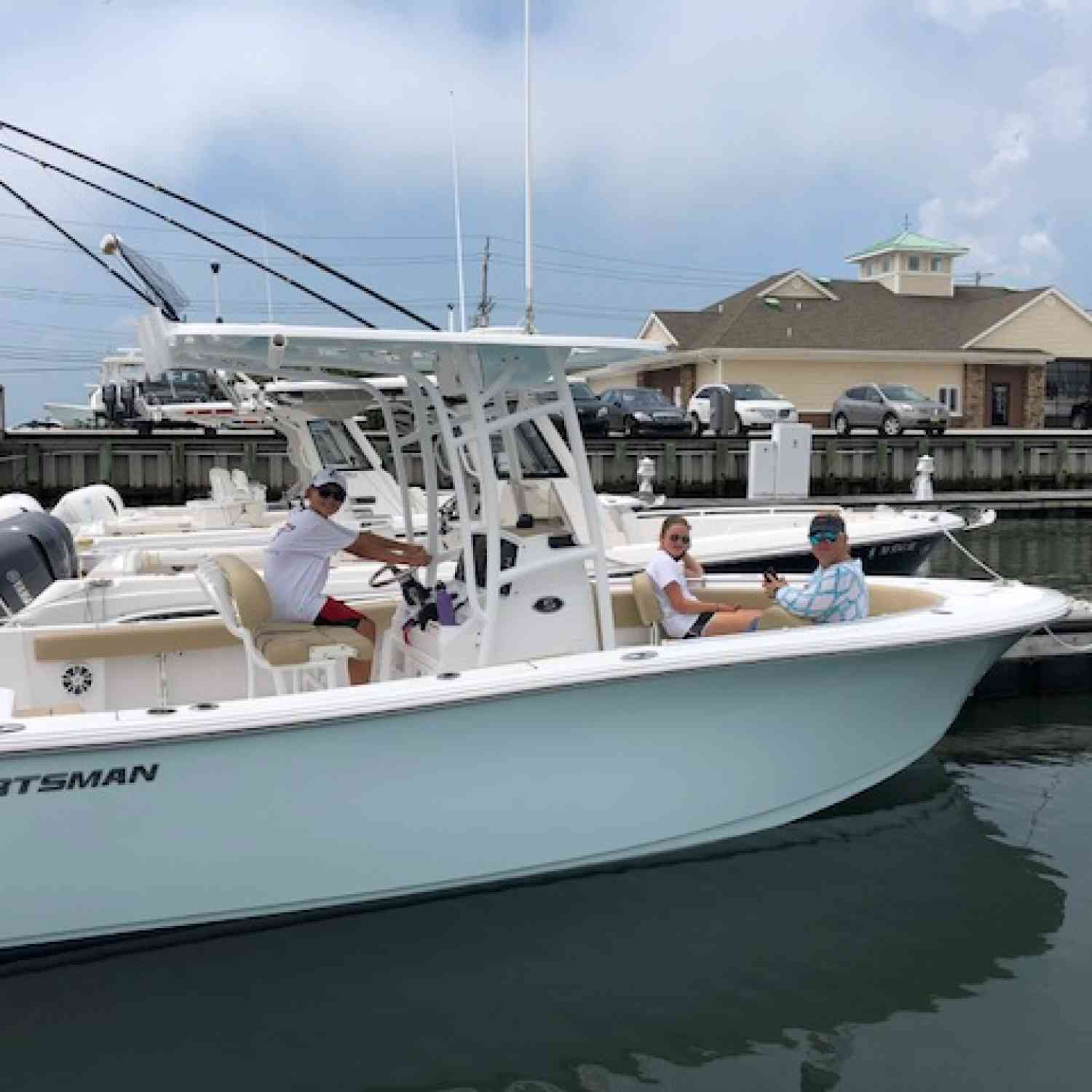 Title: 232 open - On board their Sportsman Open 232 Center Console - Location: Stone Harbor, NJ. Participating in the Photo Contest #SportsmanAugust2018