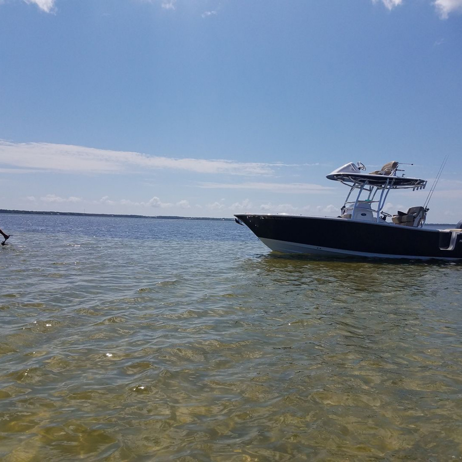 Title: Blacks Island - On board their Sportsman Open 252 Center Console - Location: Port St. Joe, FL. Participating in the Photo Contest #SportsmanFebruary2018