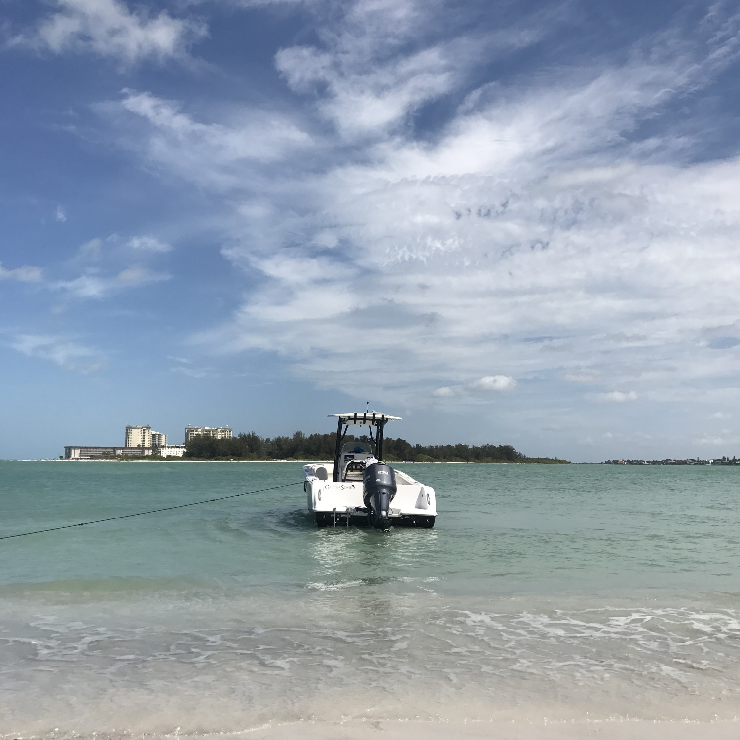 Title: South lido - On board their Sportsman Heritage 231 Center Console - Location: Sarasota Fl. Participating in the Photo Contest #SportsmanFebruary2018