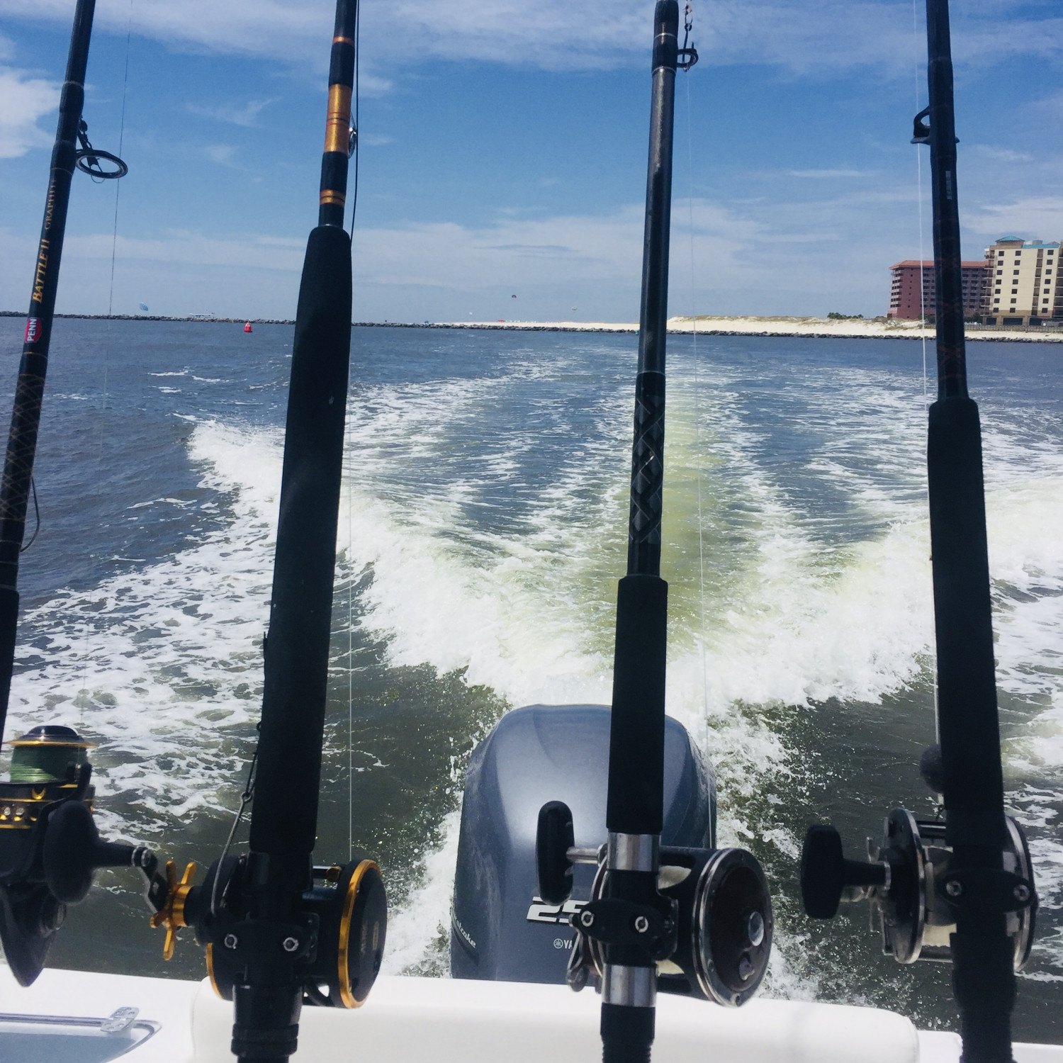 Title: Headed In - On board their Sportsman Open 232 Center Console - Location: Orange Beach, AL. Participating in the Photo Contest #SportsmanFebruary2018