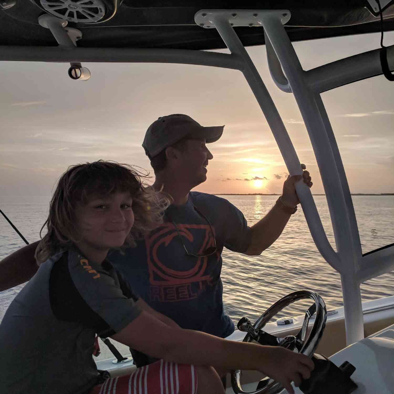 Title: Sunset Cruise - On board their Sportsman Open 252 Center Console - Location: Key West. Participating in the Photo Contest #SportsmanJuly2018