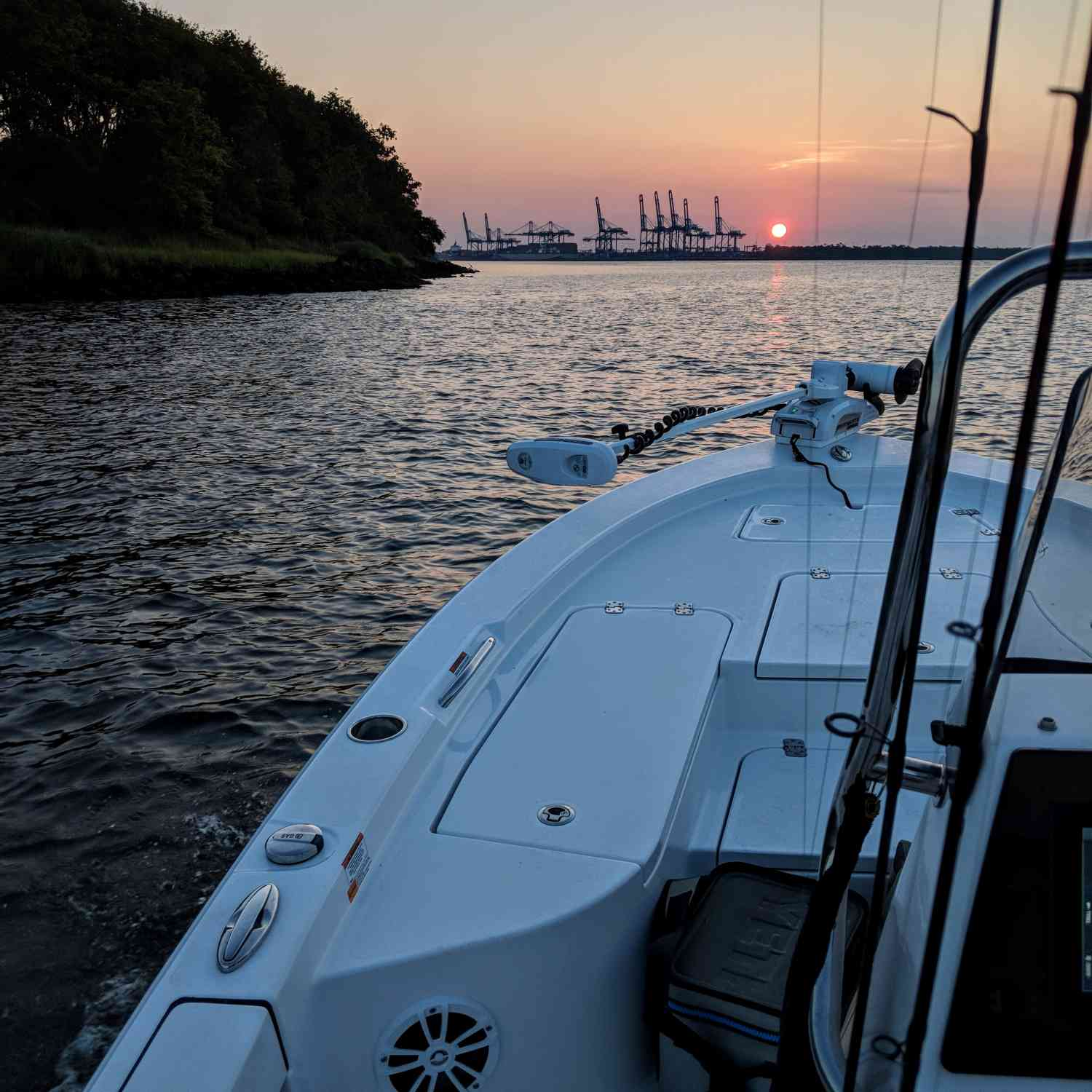 Title: Top water time - On board their Sportsman Masters 207 Bay Boat - Location: Charleston SC. Participating in the Photo Contest #SportsmanJuly2018