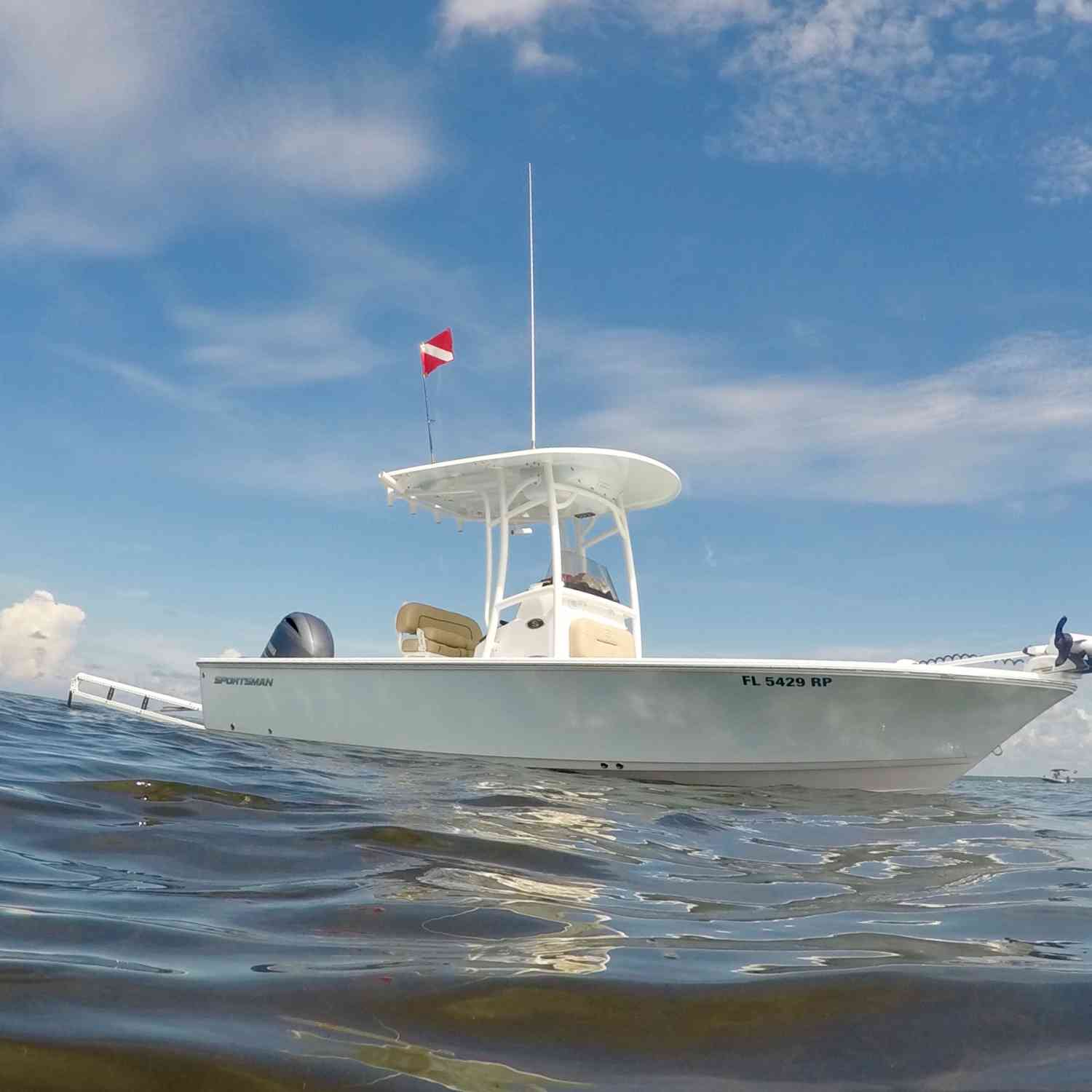 Title: Scalloping in the Gulf - On board their Sportsman Masters 227 Bay Boat - Location: Steinhatchee, FL. Participating in the Photo Contest #SportsmanJuly2018