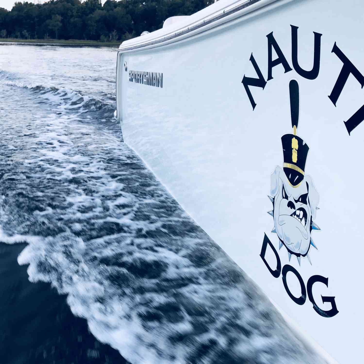 Title: Nauti on a slick morning - On board their Sportsman Heritage 231 Center Console - Location: Daniel Island SC. Participating in the Photo Contest #SportsmanJuly2018