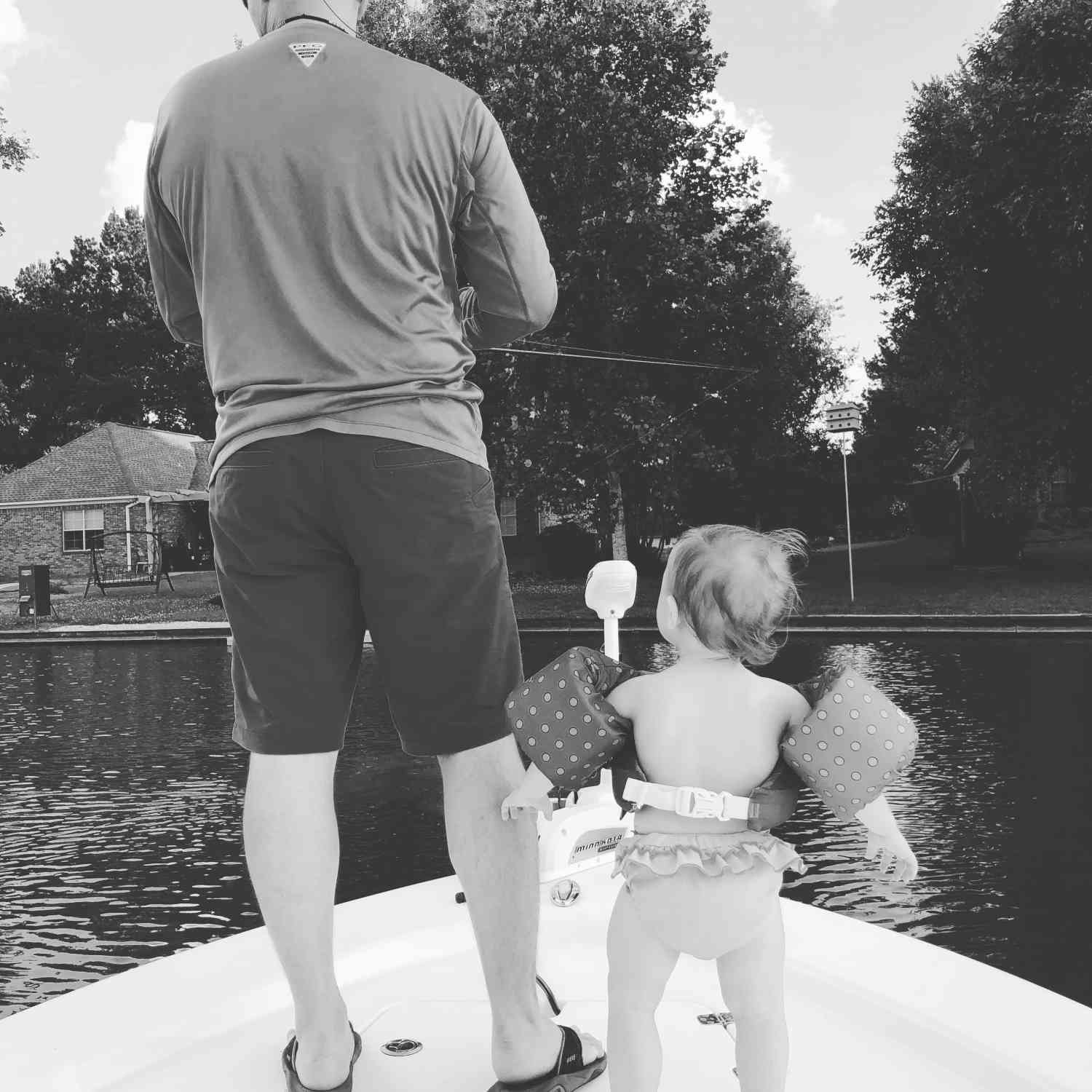 Title: She's sure loves the boat - On board their Sportsman Masters 207 Bay Boat - Location: Madison ms. Participating in the Photo Contest #SportsmanJune2018