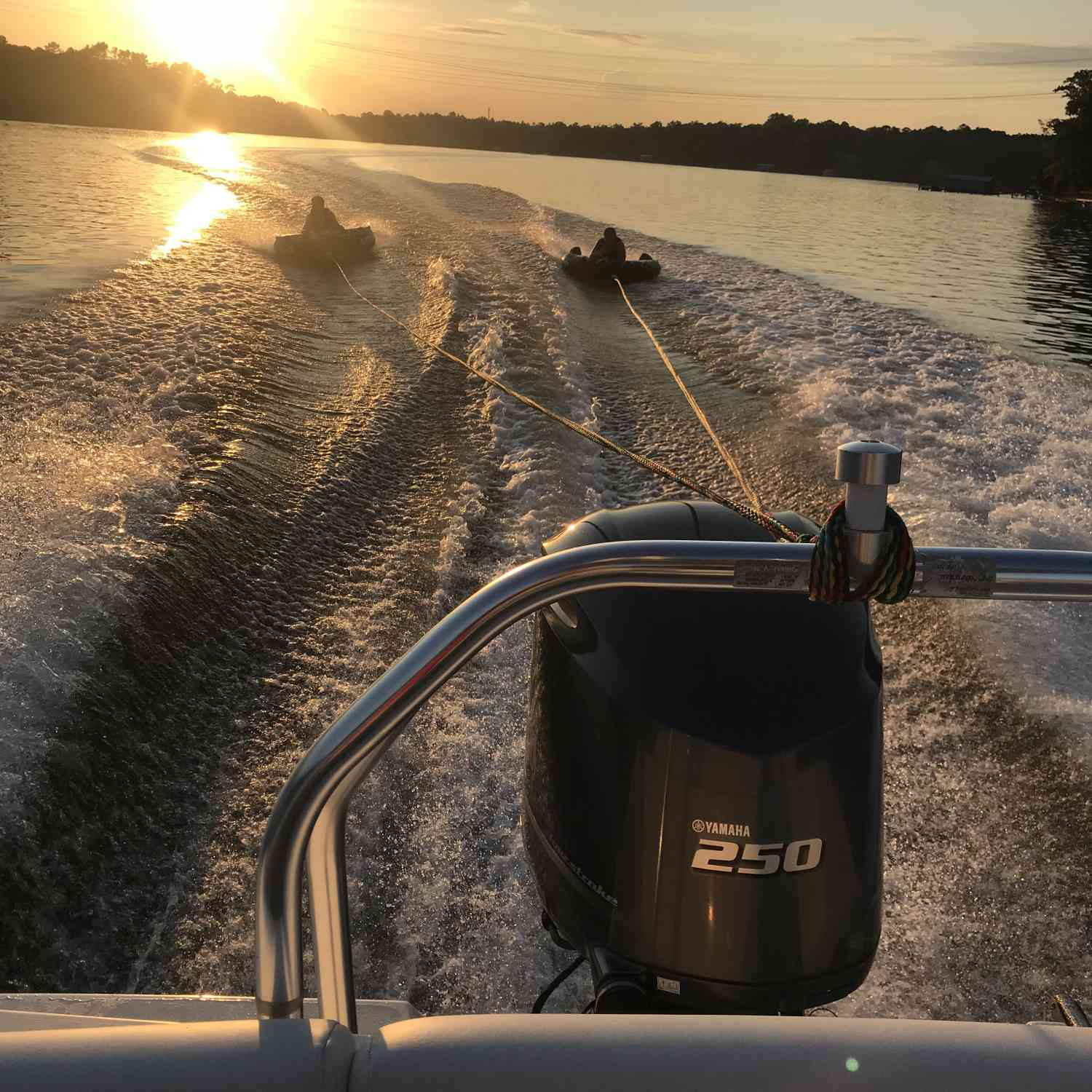 Title: Summer evenings! - On board their Sportsman Heritage 231 Center Console - Location: Lake Wylie, SC. Participating in the Photo Contest #SportsmanJune2018