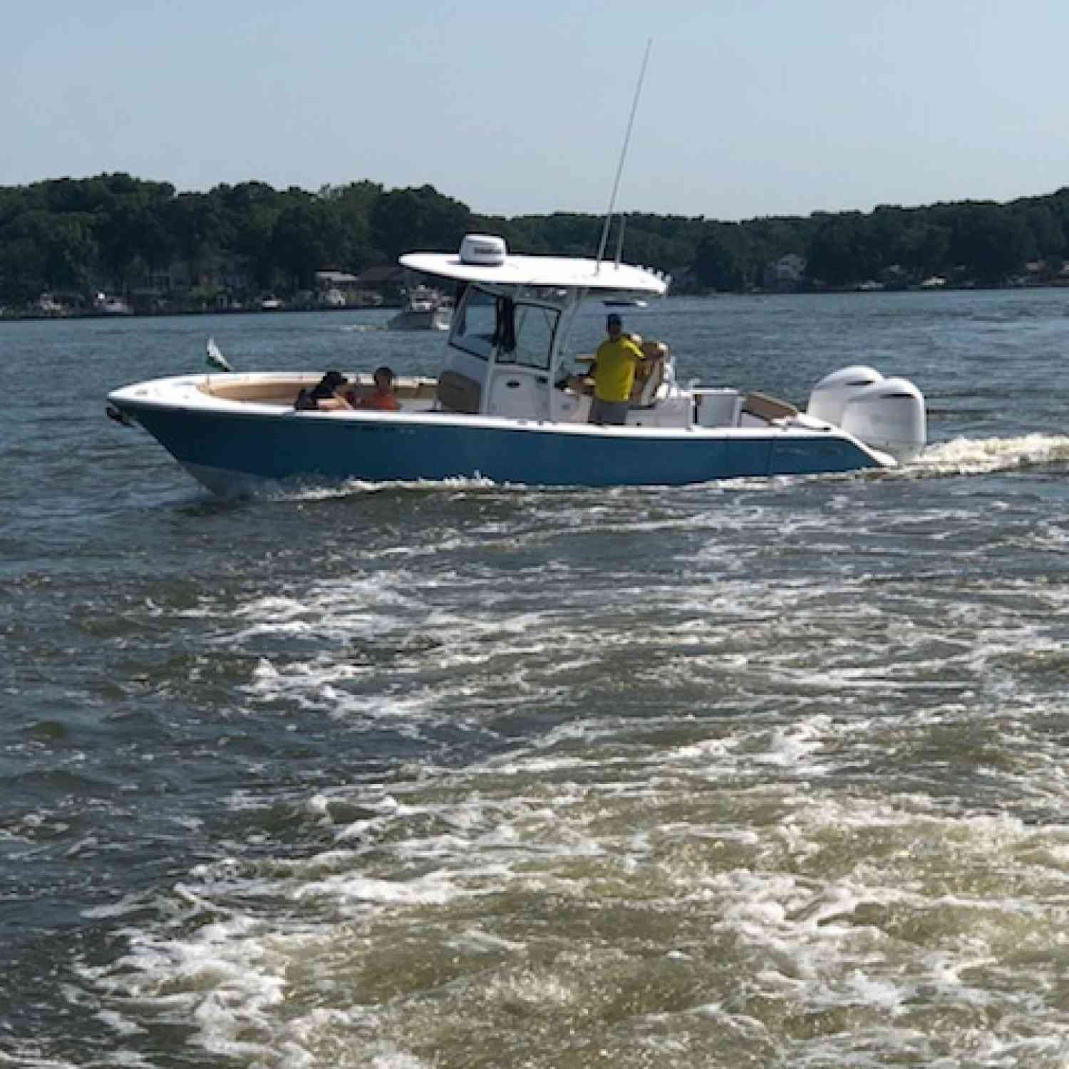 Title: Chesapeake Bay - On board their Sportsman Open 282 Center Console - Location: Pasadena maryland. Participating in the Photo Contest #SportsmanJune2018