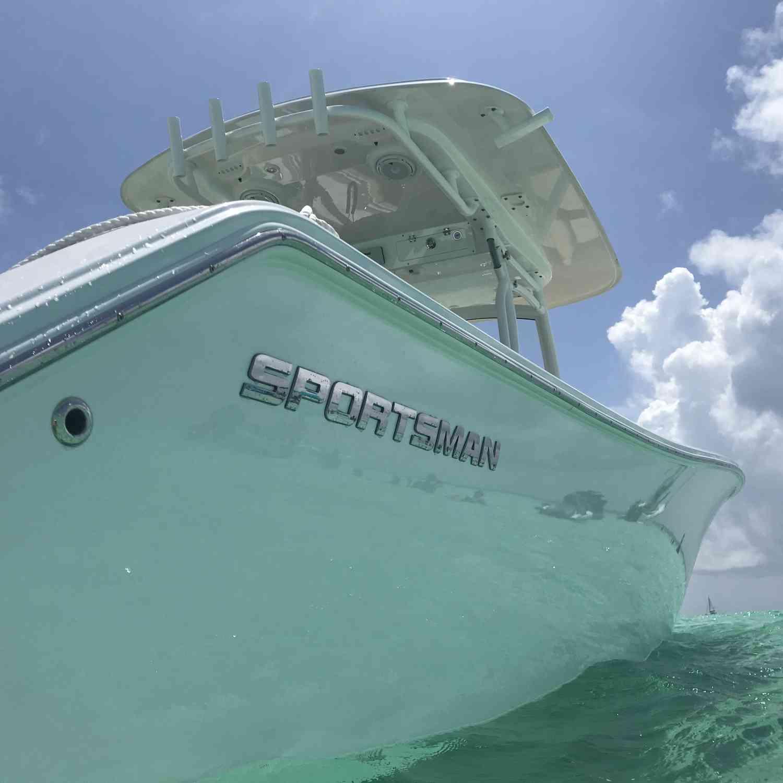 Title: Sportsman Sandbar - On board their Sportsman Open 312 Center Console - Location: Florida Keys. Participating in the Photo Contest #SportsmanJune2018