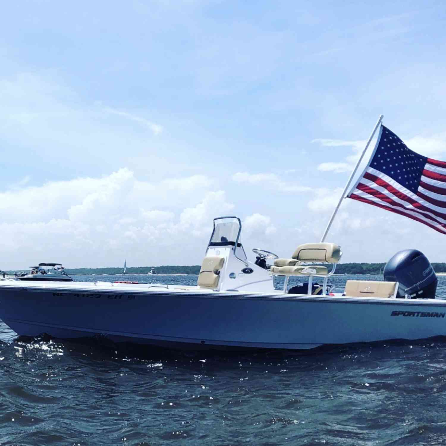 Title: Memorial Weekend 2018 - On board their Sportsman Masters 207 Bay Boat - Location: Little River Inlet, South Carolina. Participating in the Photo Contest #SportsmanJune2018